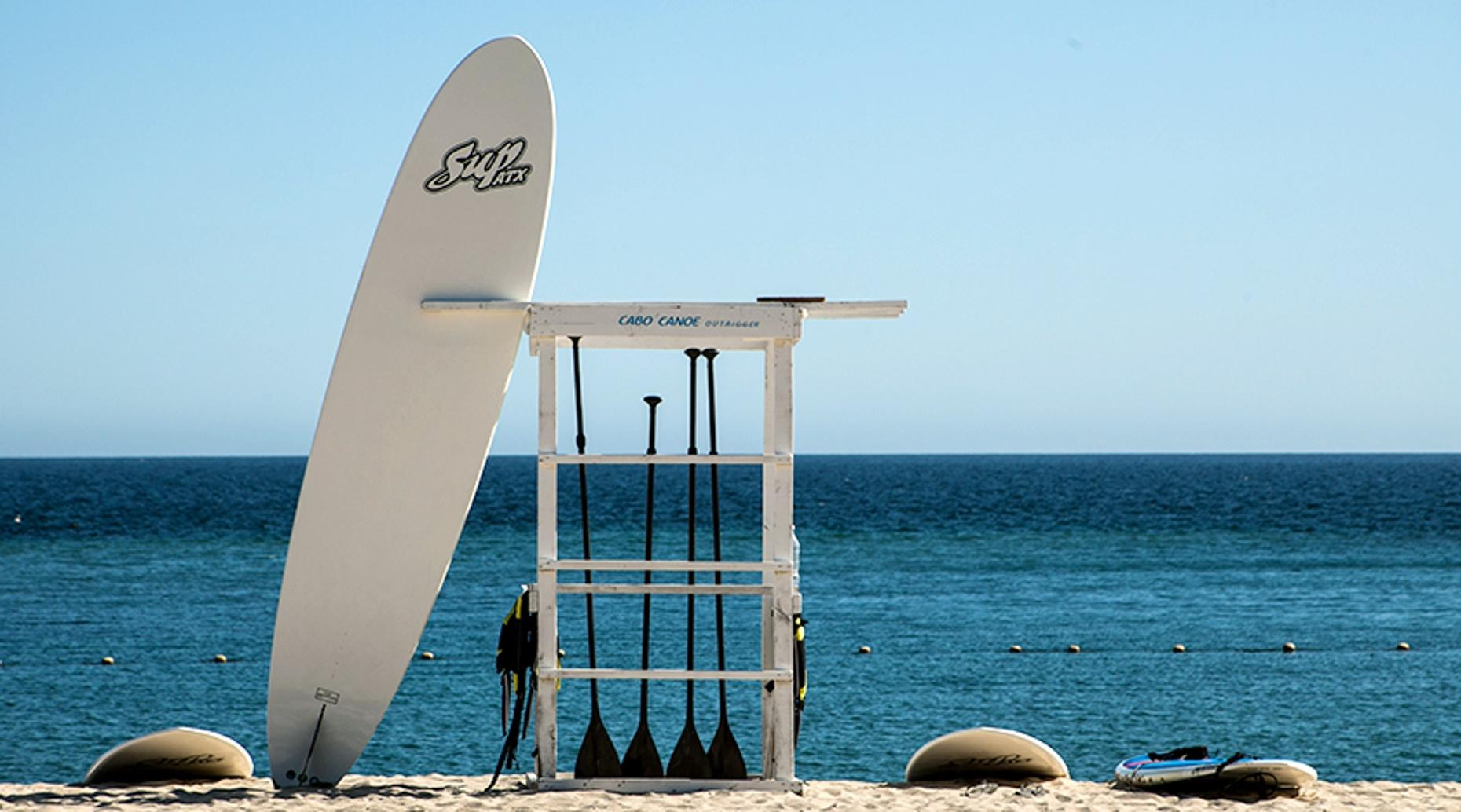 Guided Stand-Up Paddle Boarding Tour in Cabo San Lucas