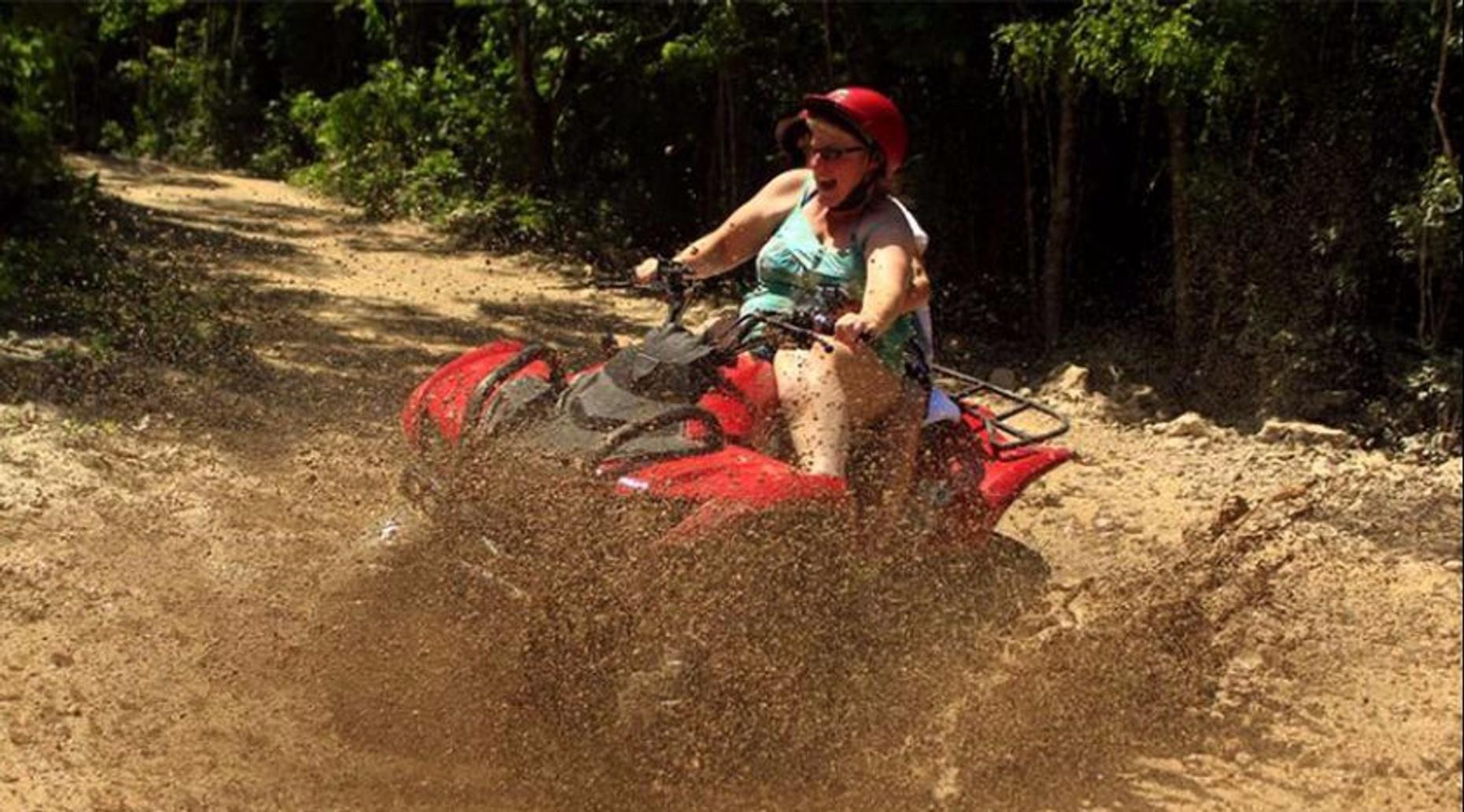 ATV & Ziplining Adventure in Cancun
