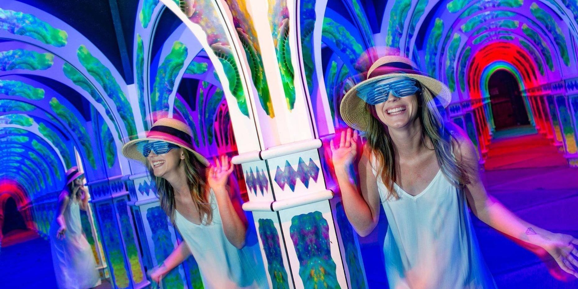 Magowan's Infinite Mirror Maze in San Francisco