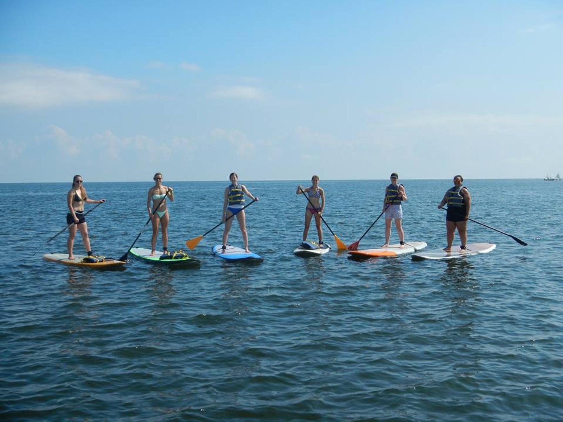 Lake Pontchartrain Paddleboarding Adventure