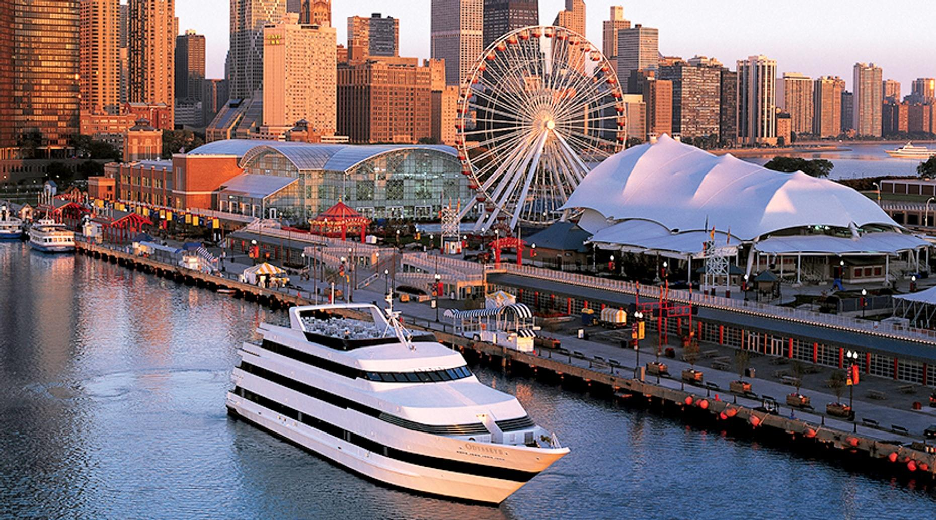 Chicago Odyssey Dinner Cruise on Lake Michigan
