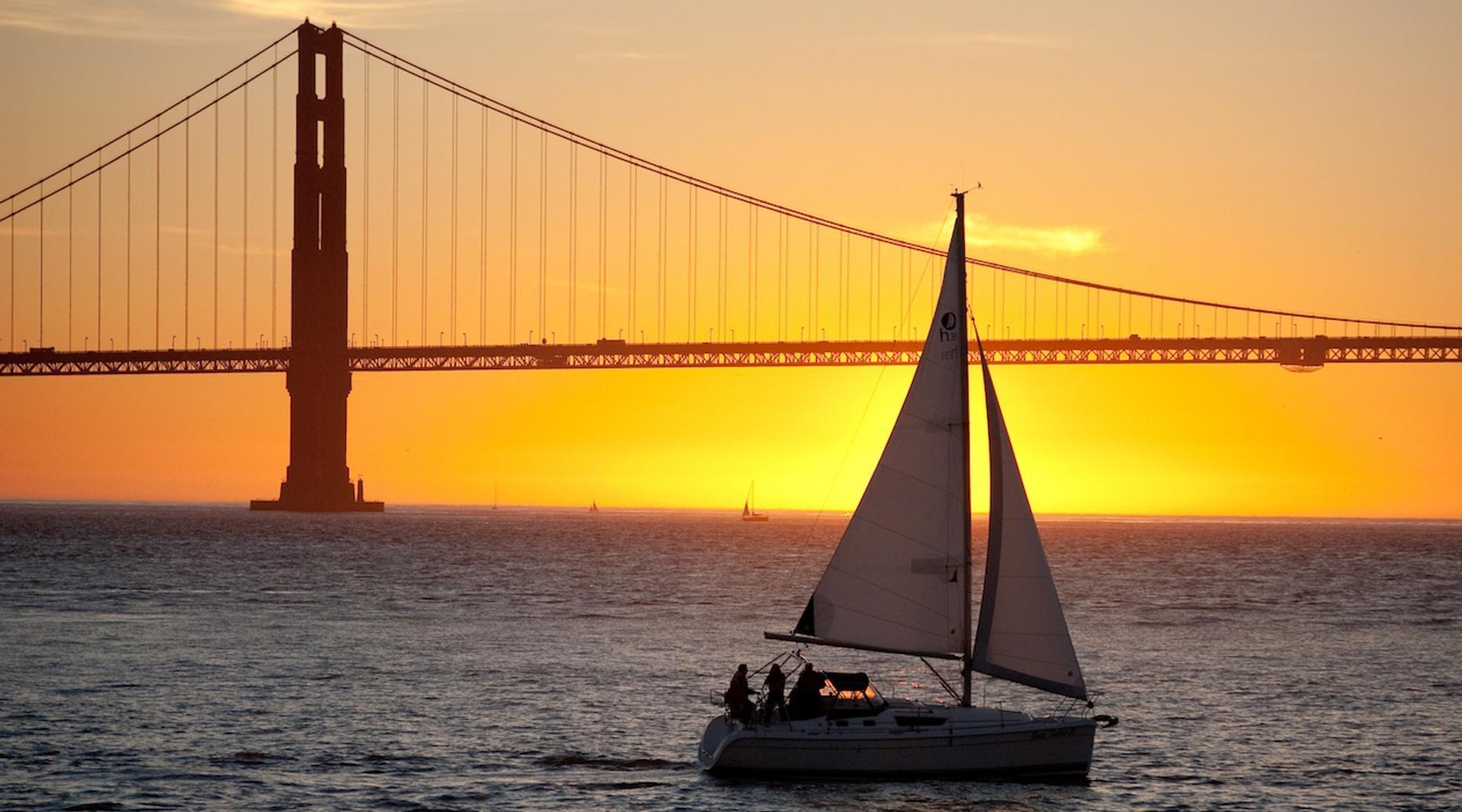 Sunset Sail in San Francisco Bay
