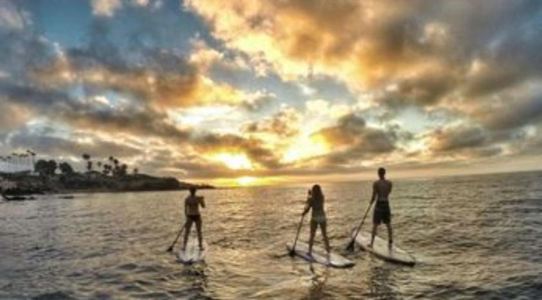 Full-Day Mission Bay Epoxy SUP Rental