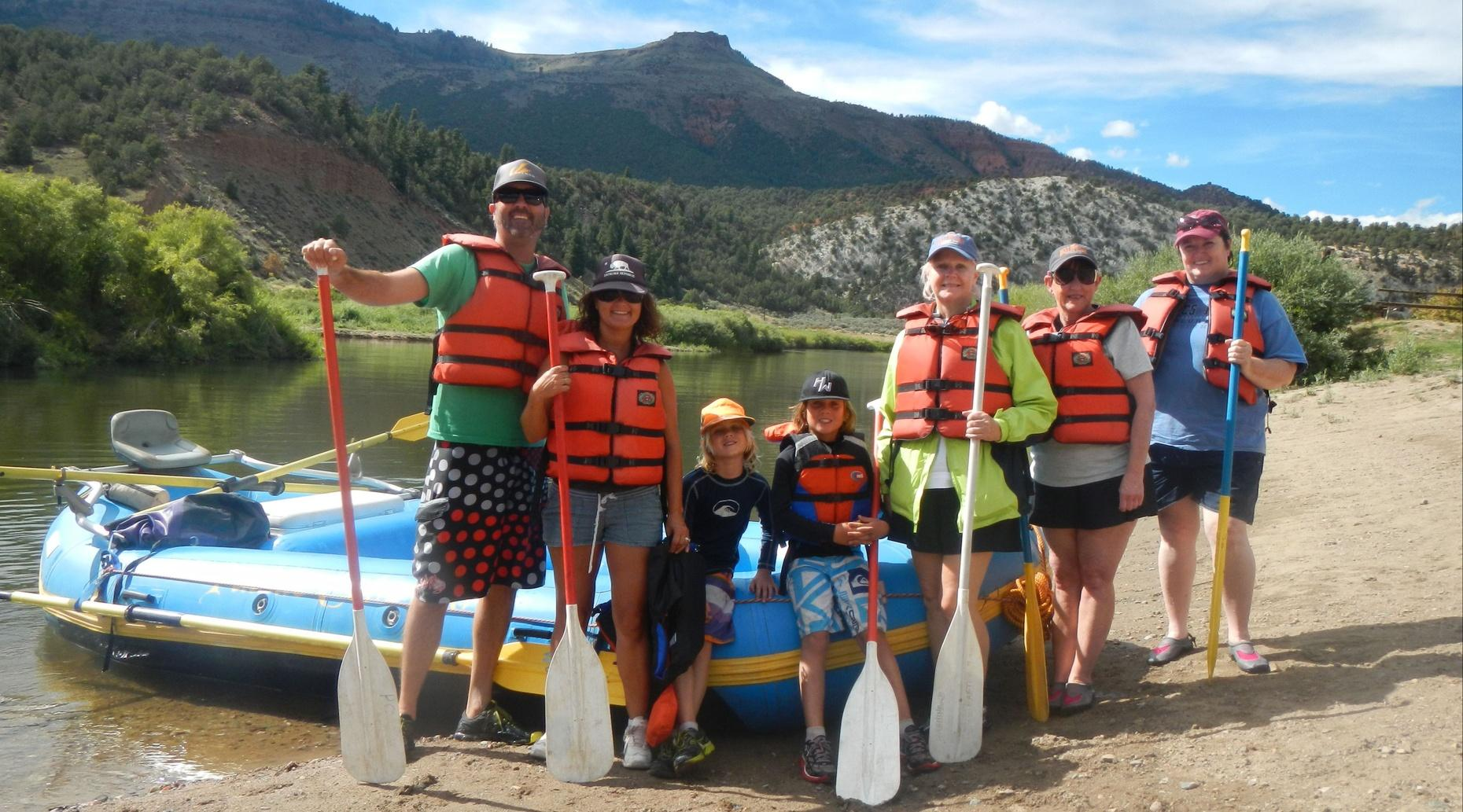 Colorado River Full-Day Rafting Tour