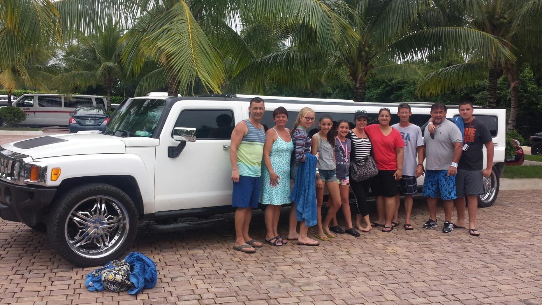 Limousine Island Tour in Cozumel