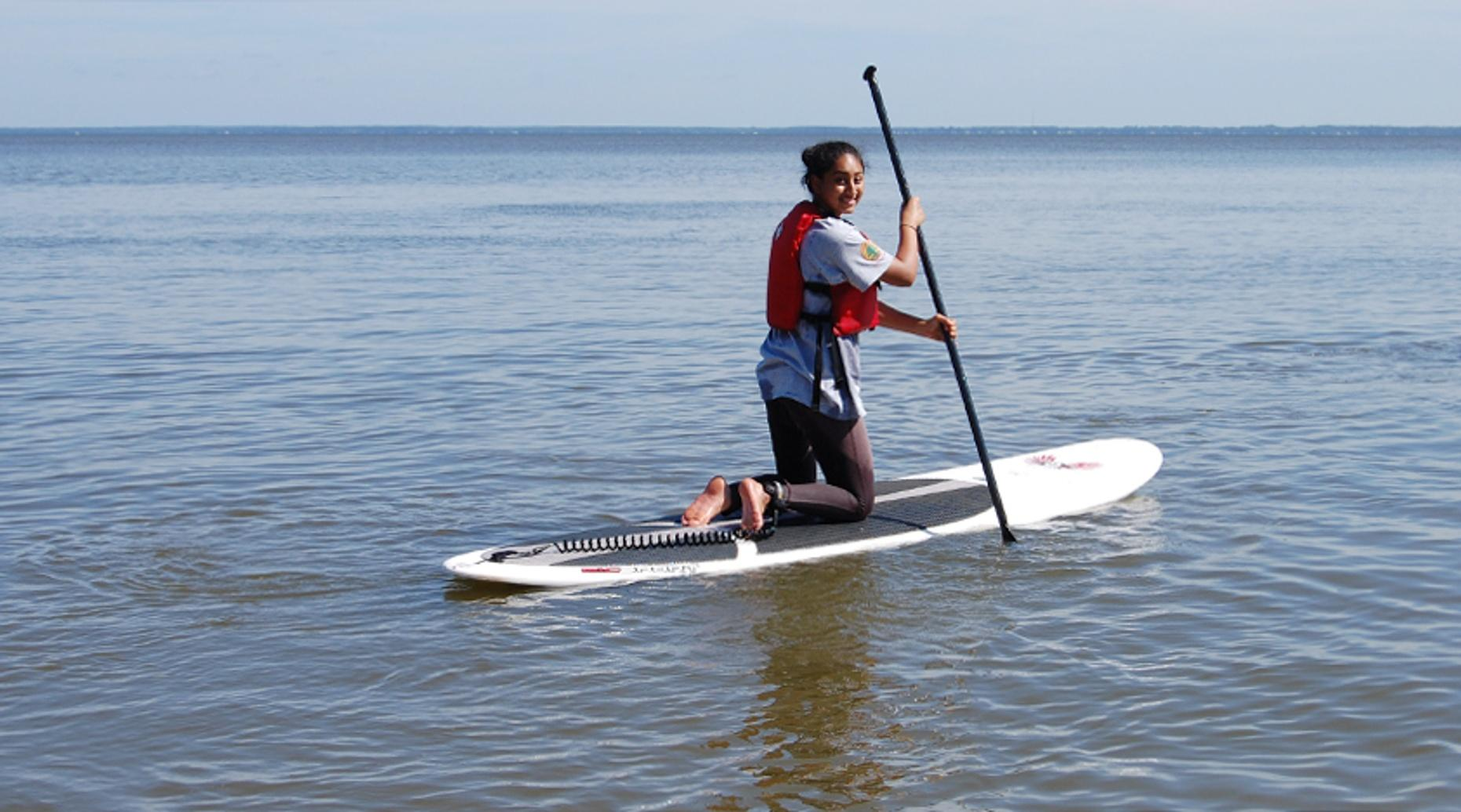Stand-Up Paddleboard Lesson in Middletown