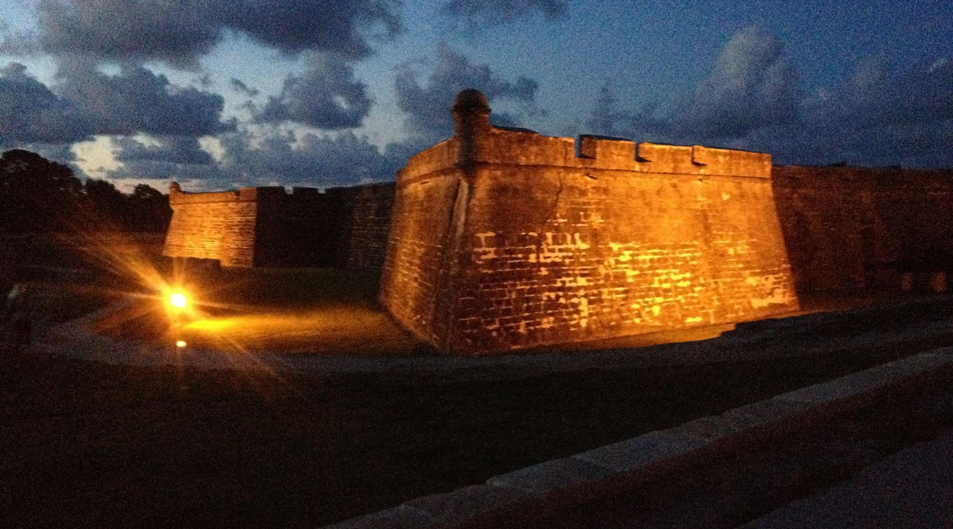 Castillo de San Marcos Exterior Tour