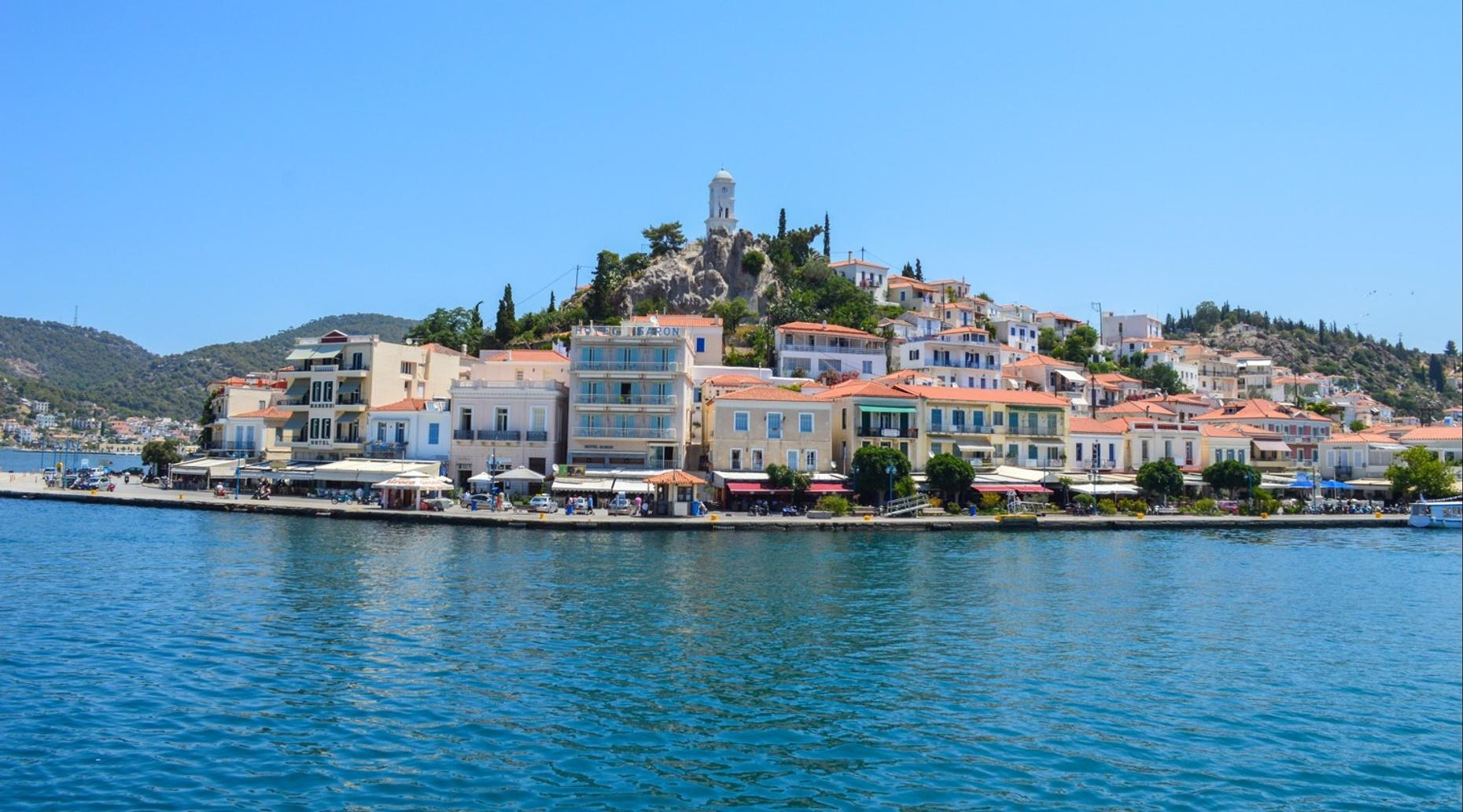 One Day Cruise to Three Greek Islands from Athens