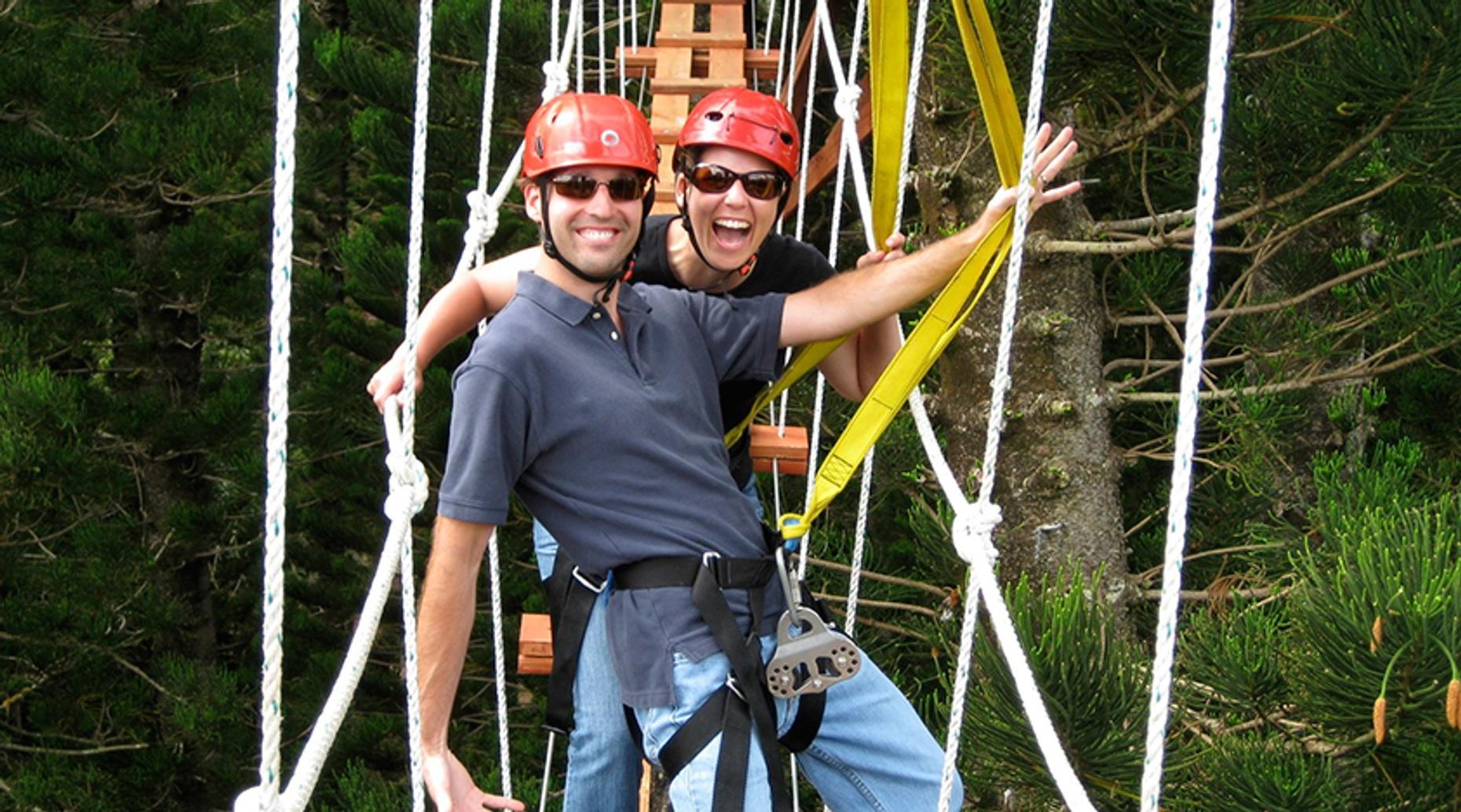 Lihue Seven Ziplines Treetop Tour