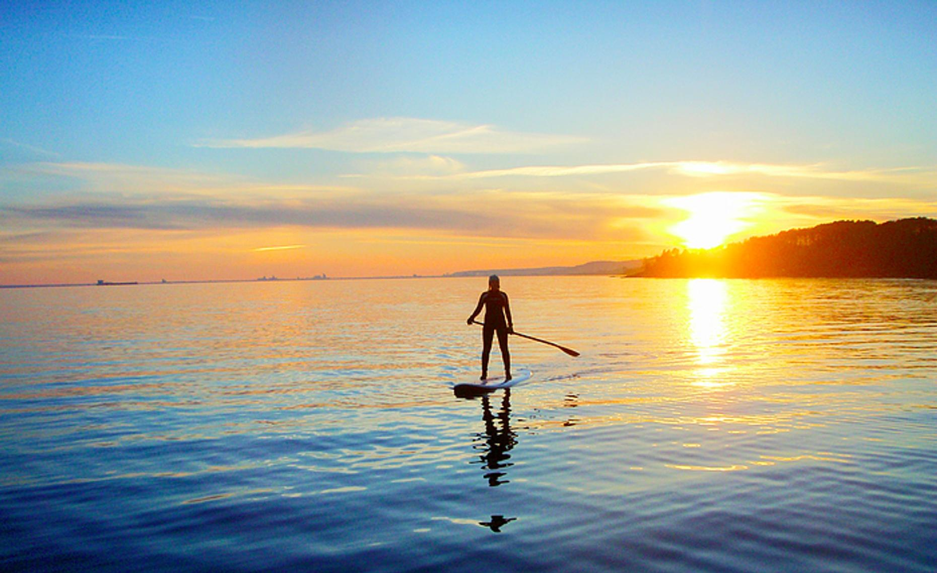 Two Hour Stand Up Paddleboard Lesson in Duluth