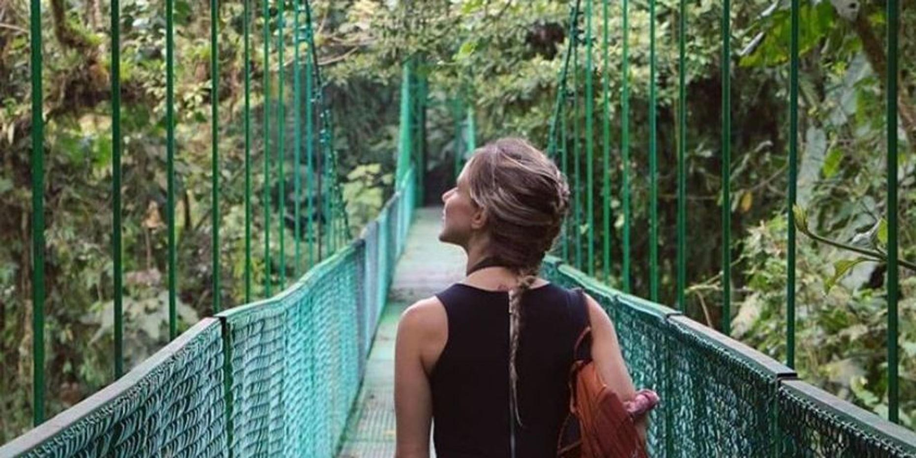 Self-Guided Treetop Walkway Tour in Monteverde
