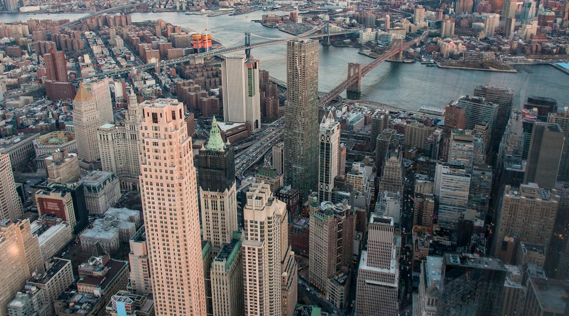 One-Hour Aerial Photography Flight Over New York