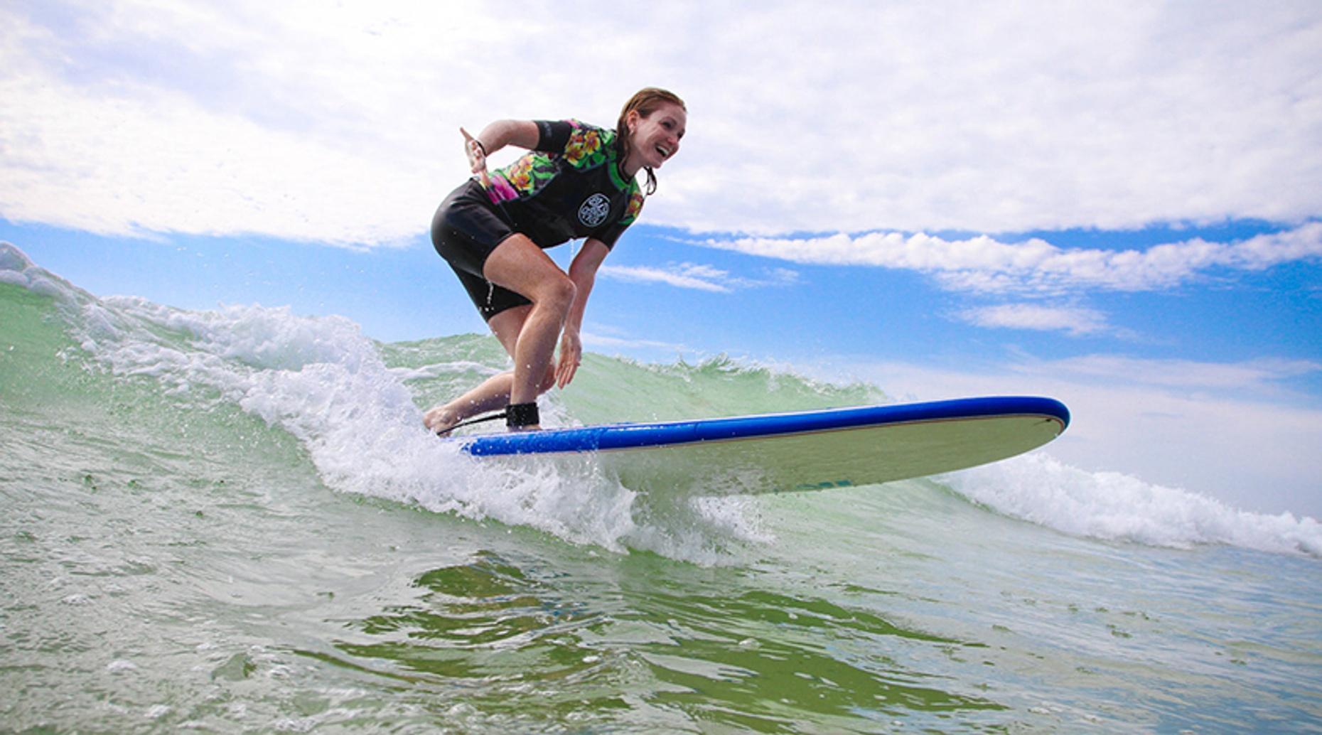 Two Day Women's Surf Clinic in La Jolla