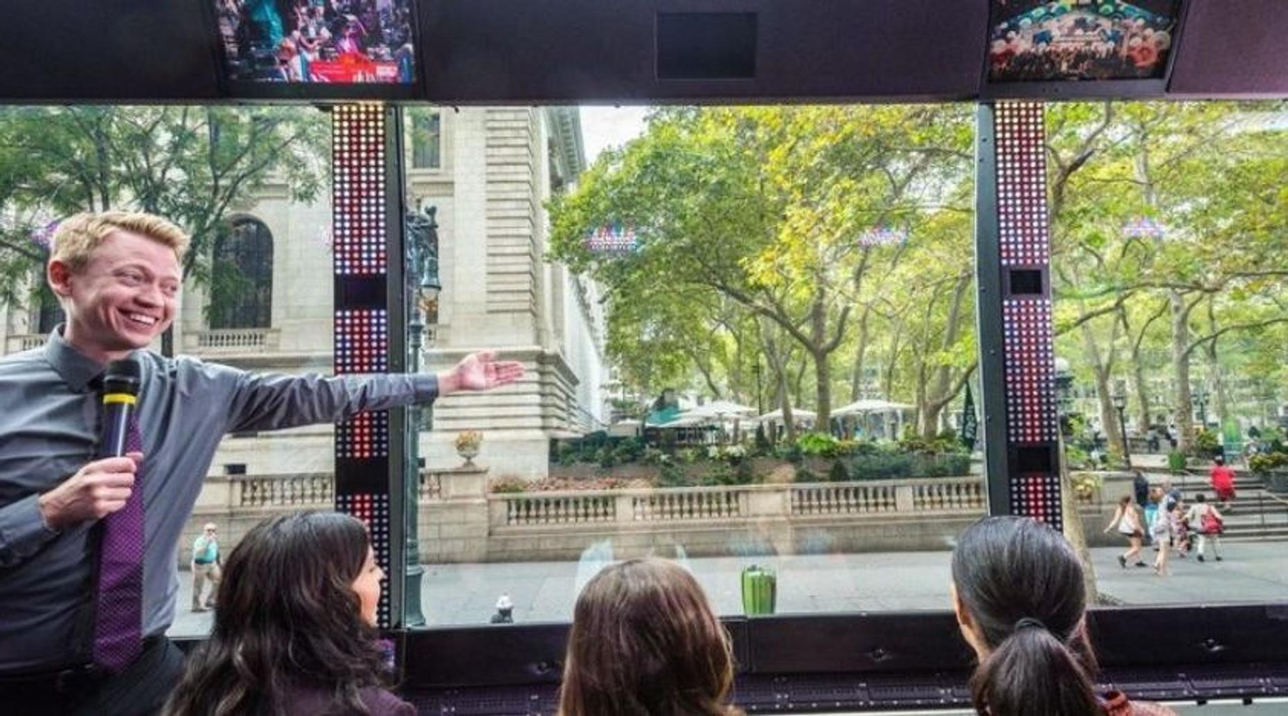 Multimedia Sightseeing Tour in New York City