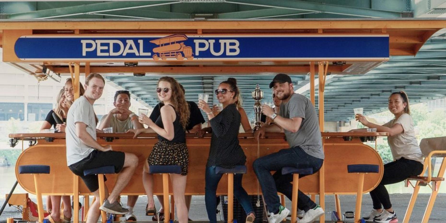 Downtown Minneapolis Pedal Pub Tour