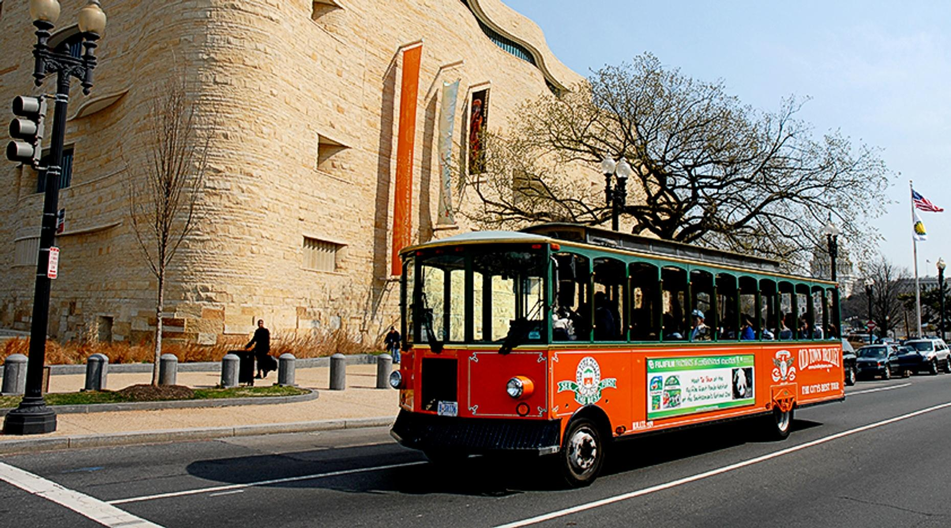 Trolley Tour of Top Sights in D.C.