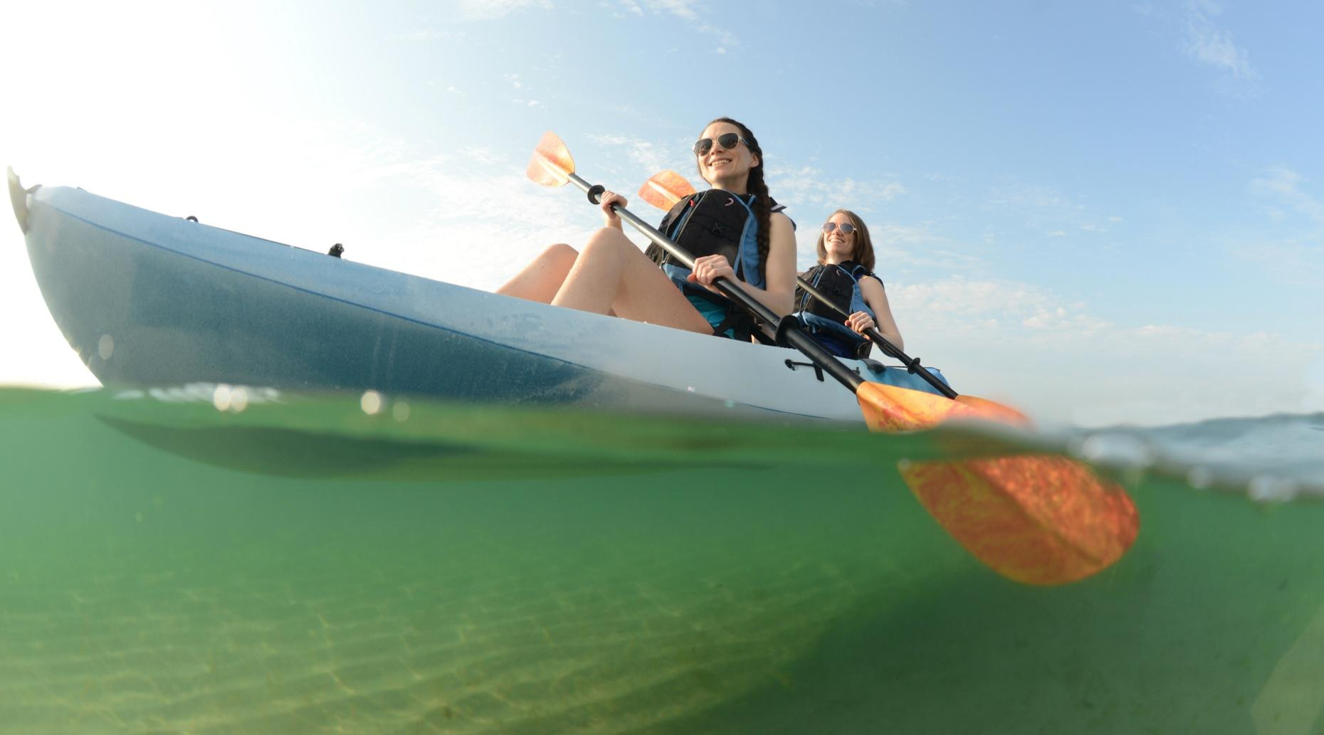 Guided Kayaking Tour of the Bay in Rochester
