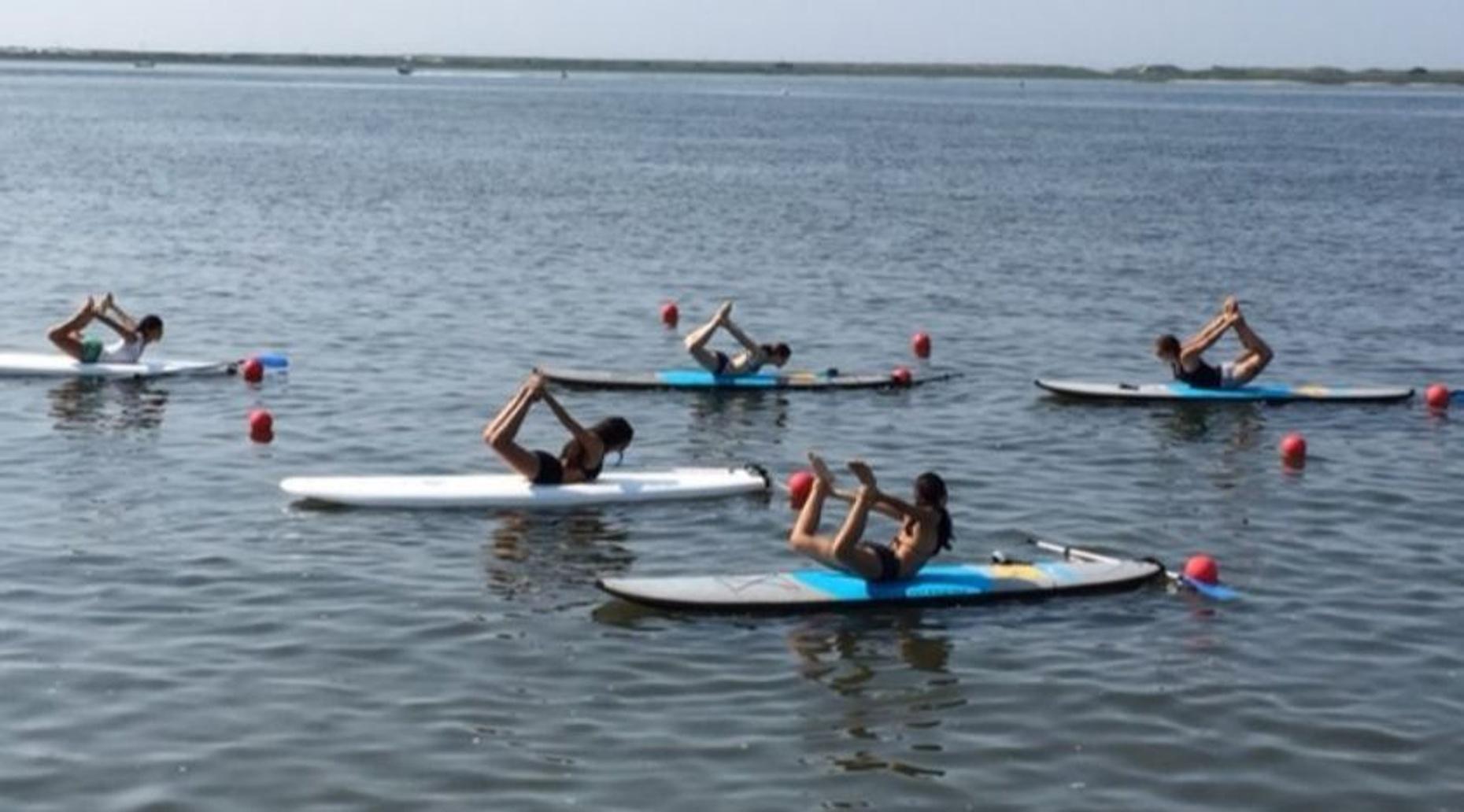Floating Yoga at Jamesport