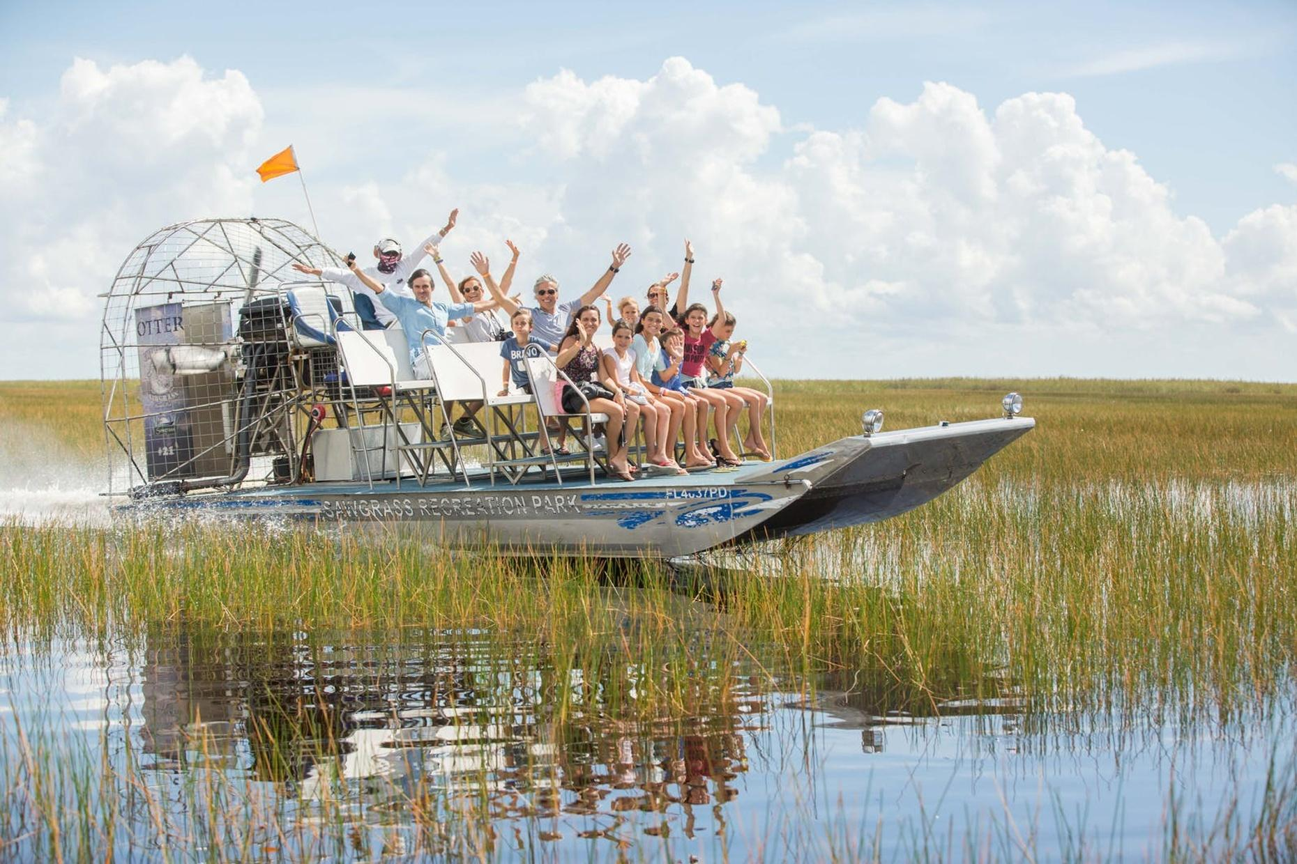Everglades Daytime Airboat Tour