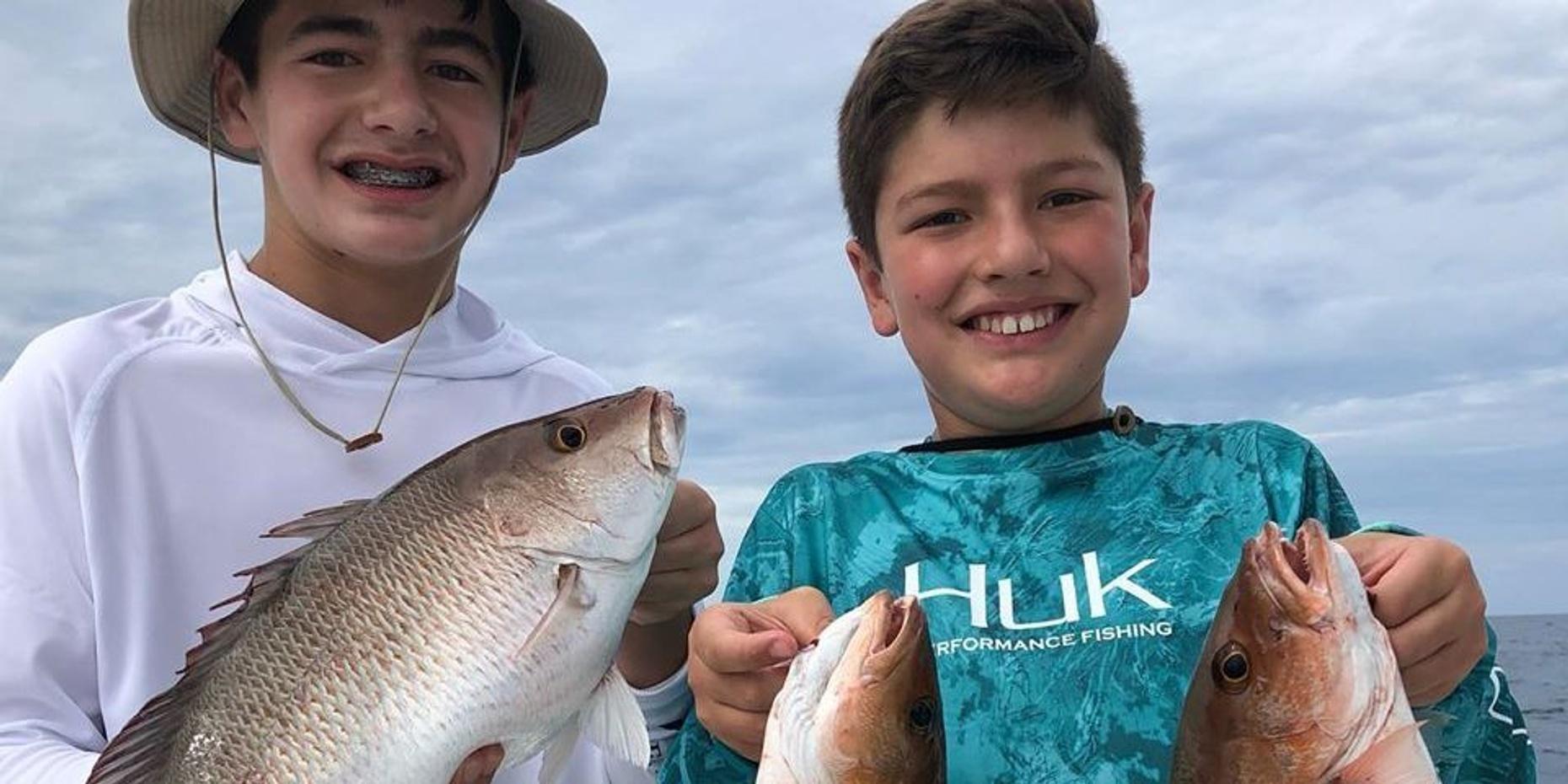 Kids' Inshore Fishing Trip in Clearwater