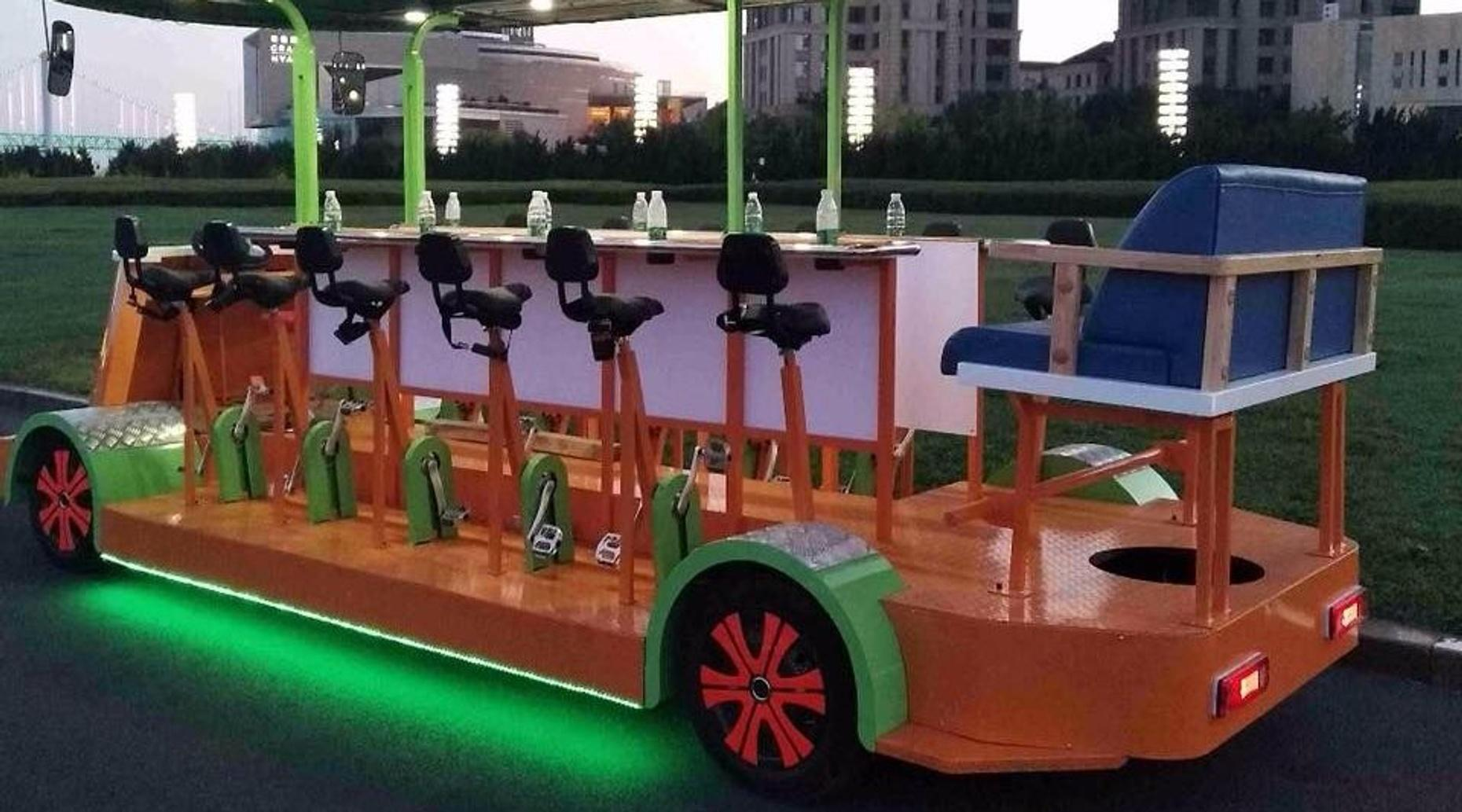 Pedal-Powered Pub Crawl in Atlanta