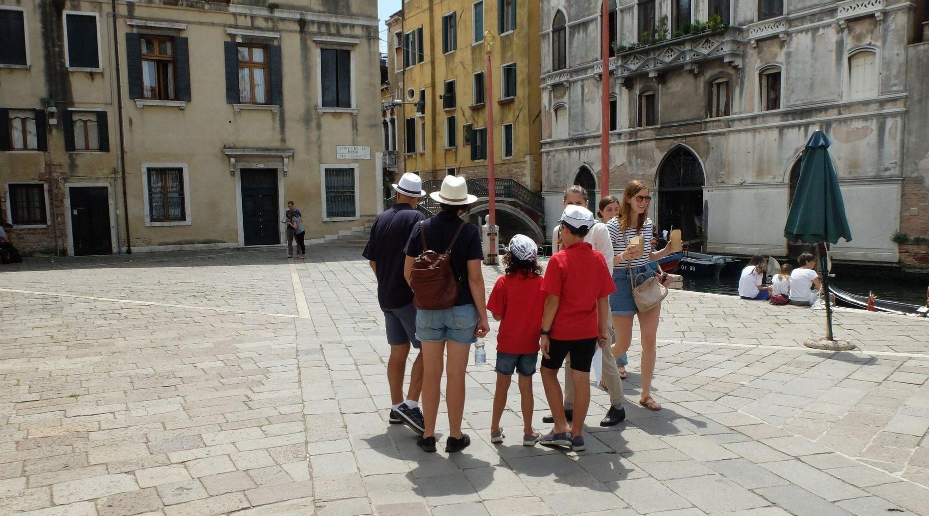 Treasure Hunt In Venice
