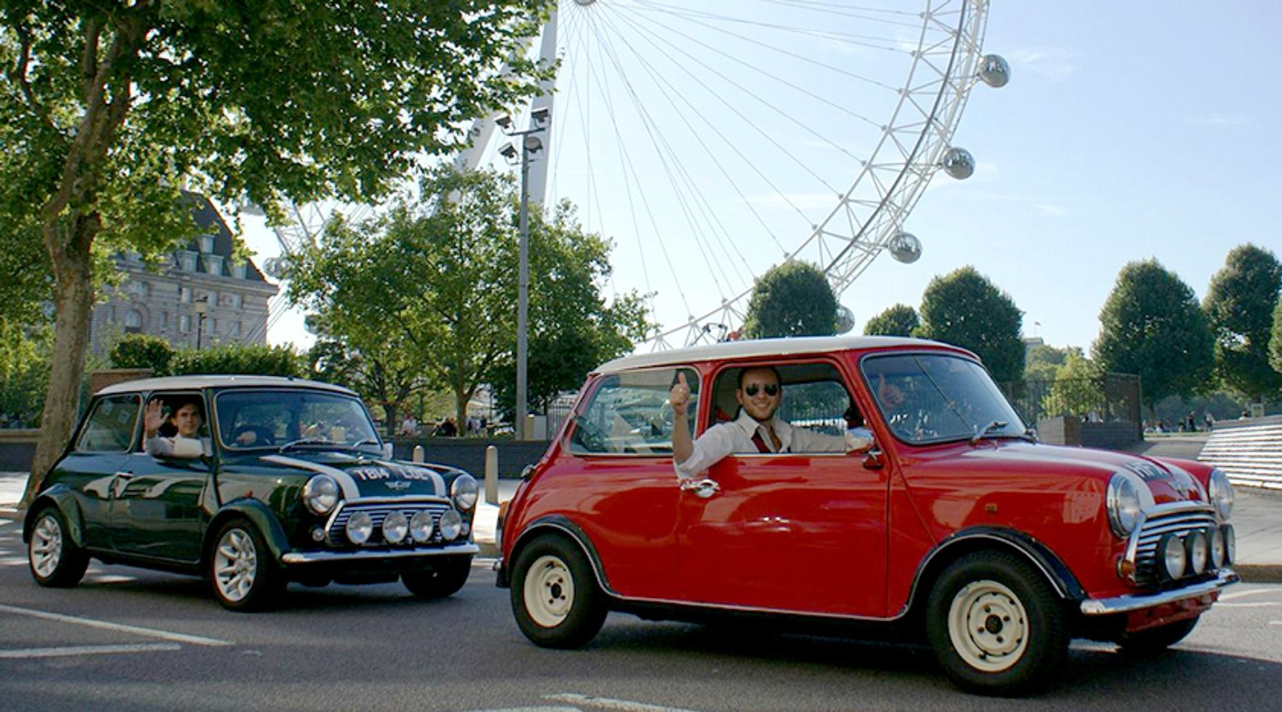 London Mini Cooper Land and Sea Tour