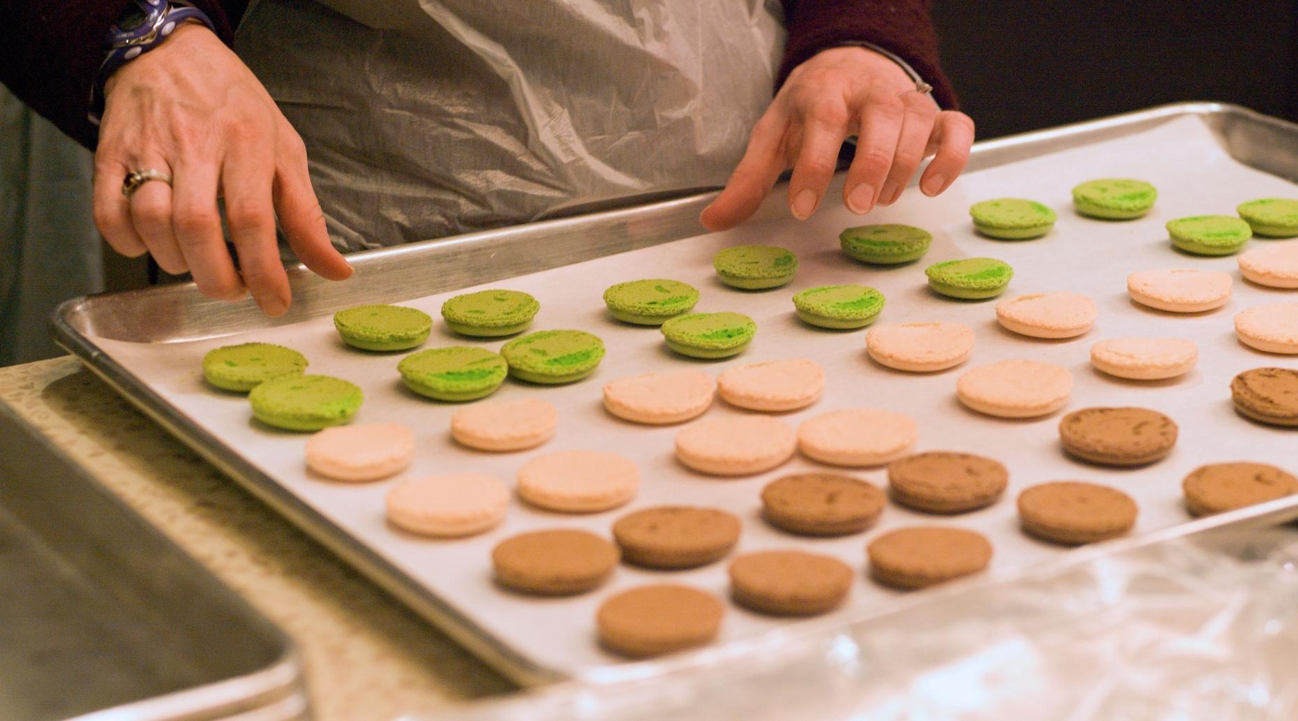 French Macarons Baking Class