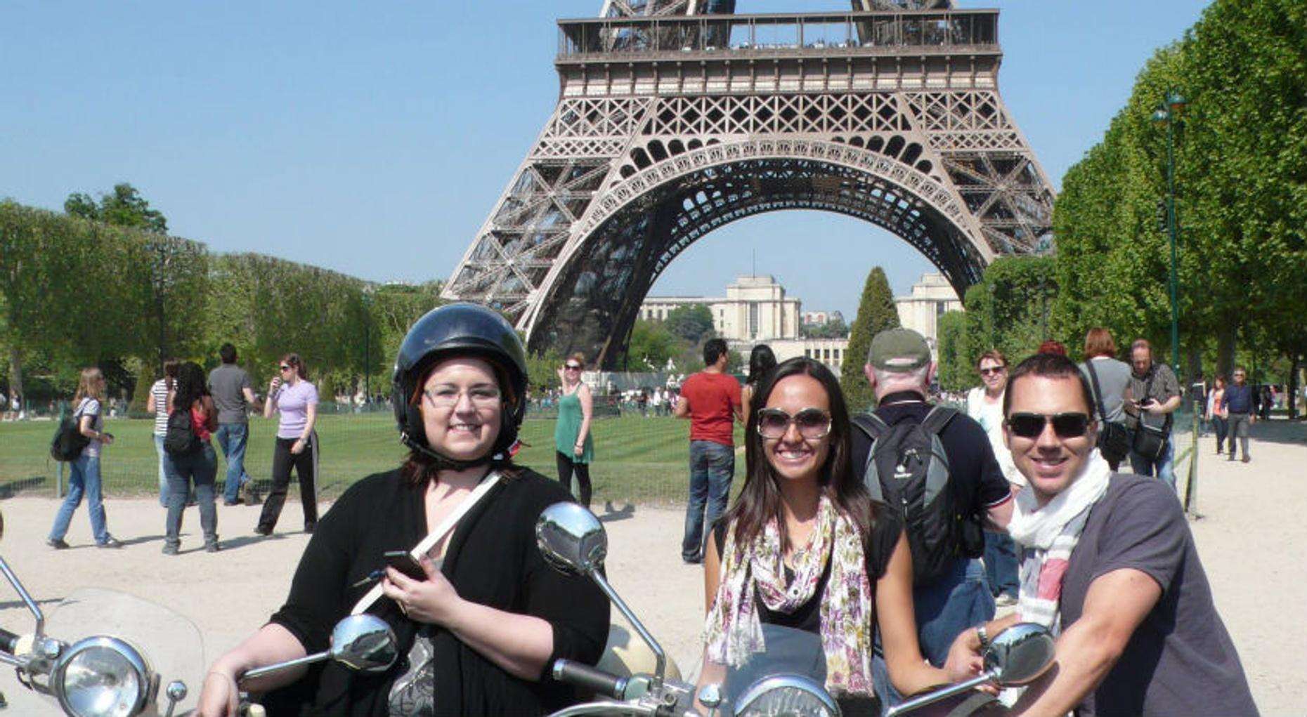 Paris Highlights Vespa Tour