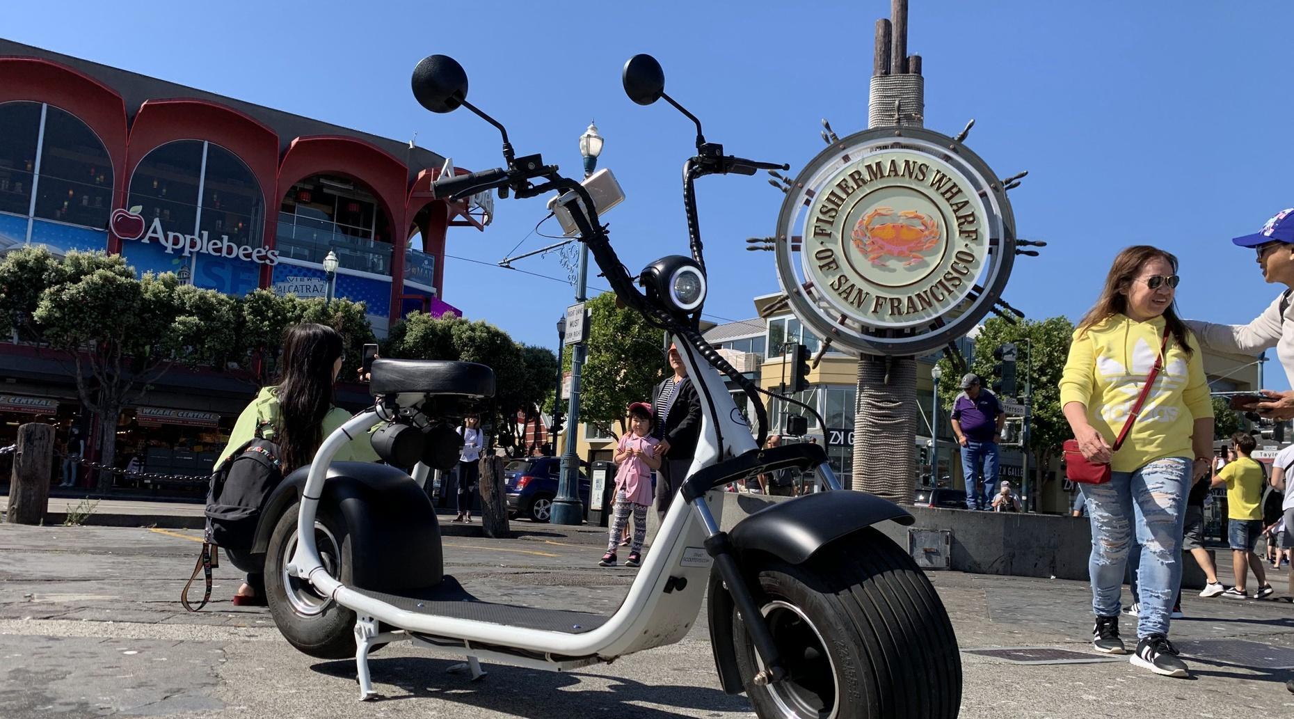 2-Hour GoCar & GoRide Scooter Tour