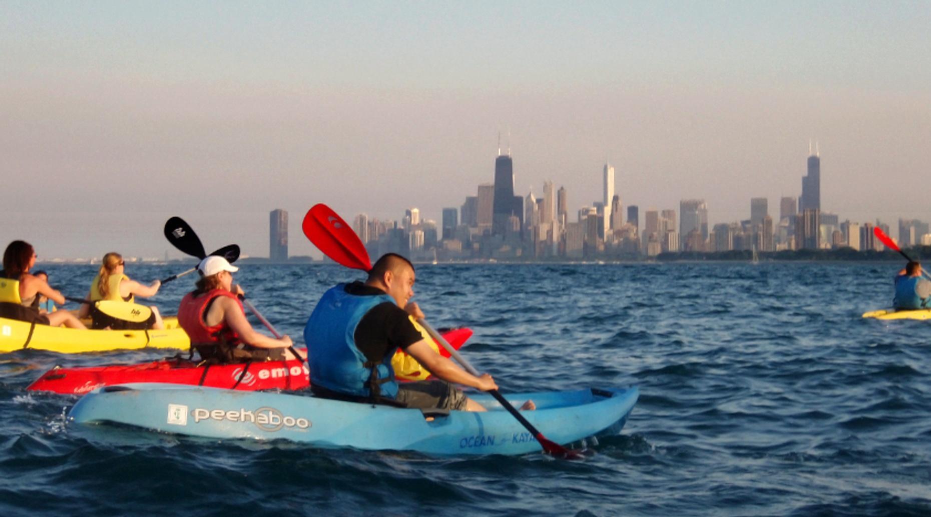 Three-Week Sea Kayaking Course