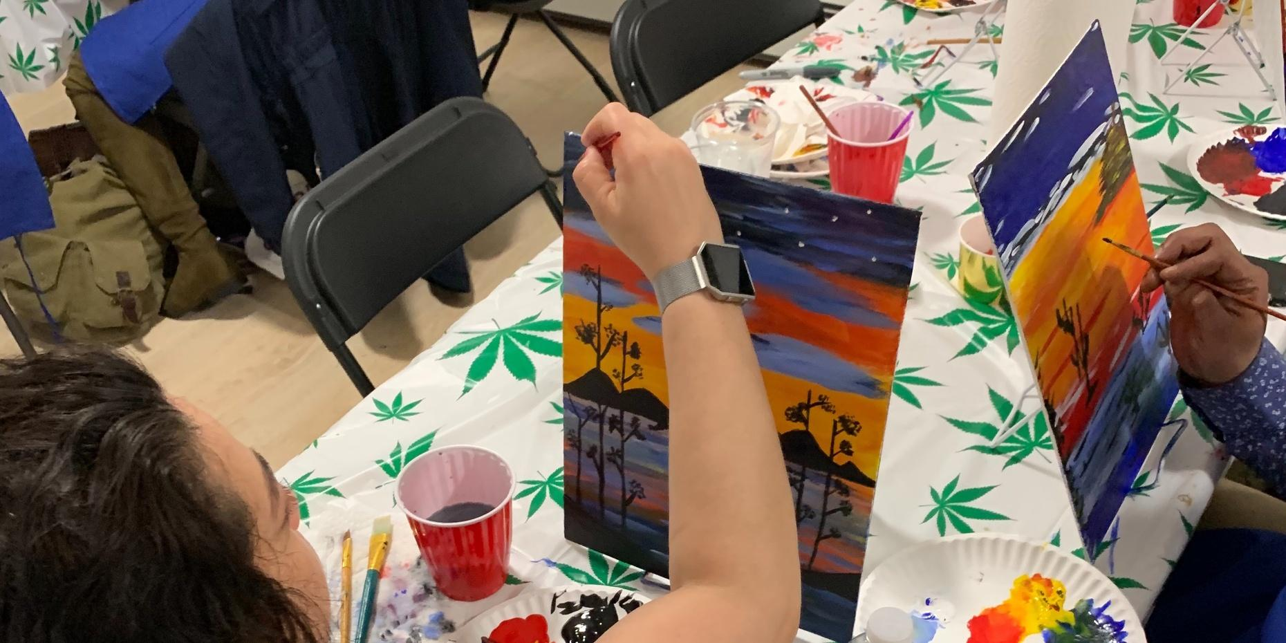 Puff, Pass, & Paint in Orange County
