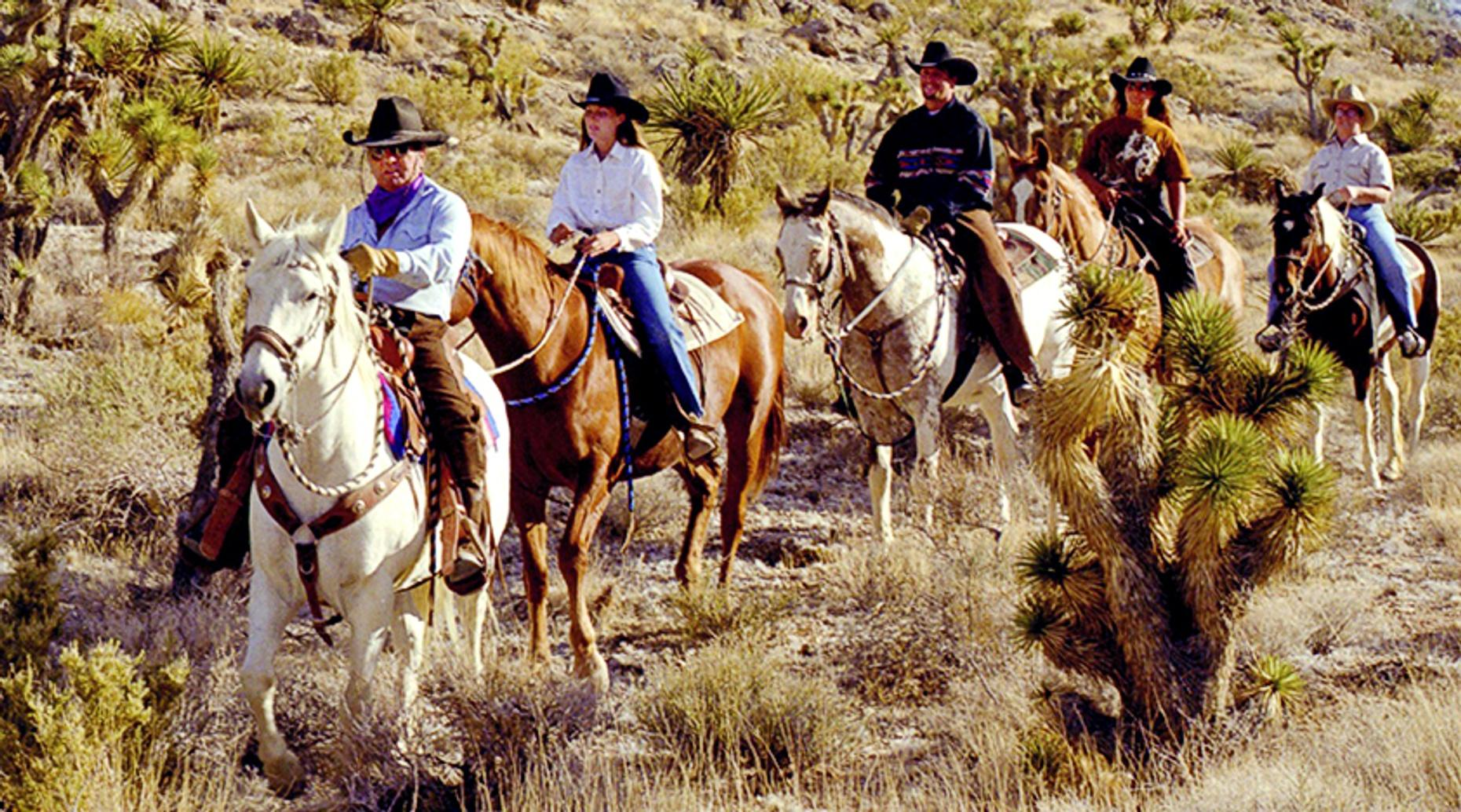 Red Rock Canyon Breakfast Trail Ride