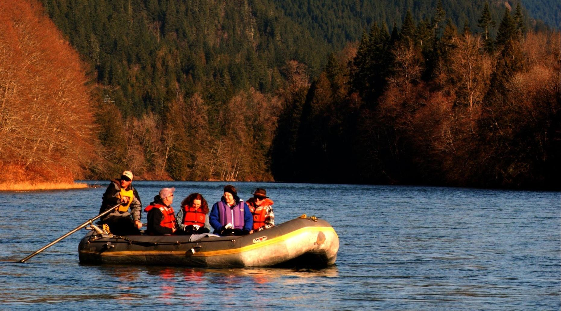 Skagit River Fall Colors Float & Salmon Spawning