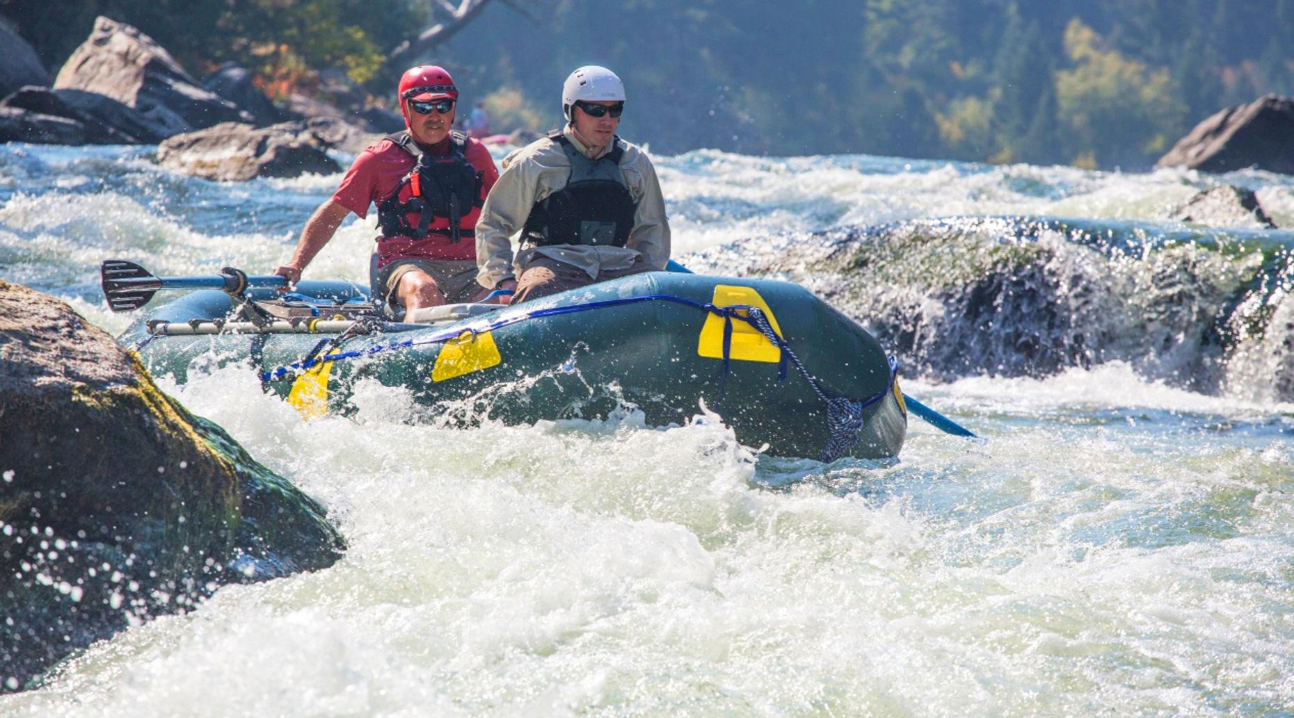 Swiftwater Rescue Technician Rafting Course