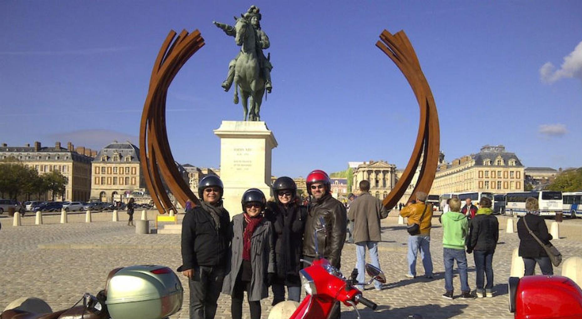 Vespa to Versailles Tour
