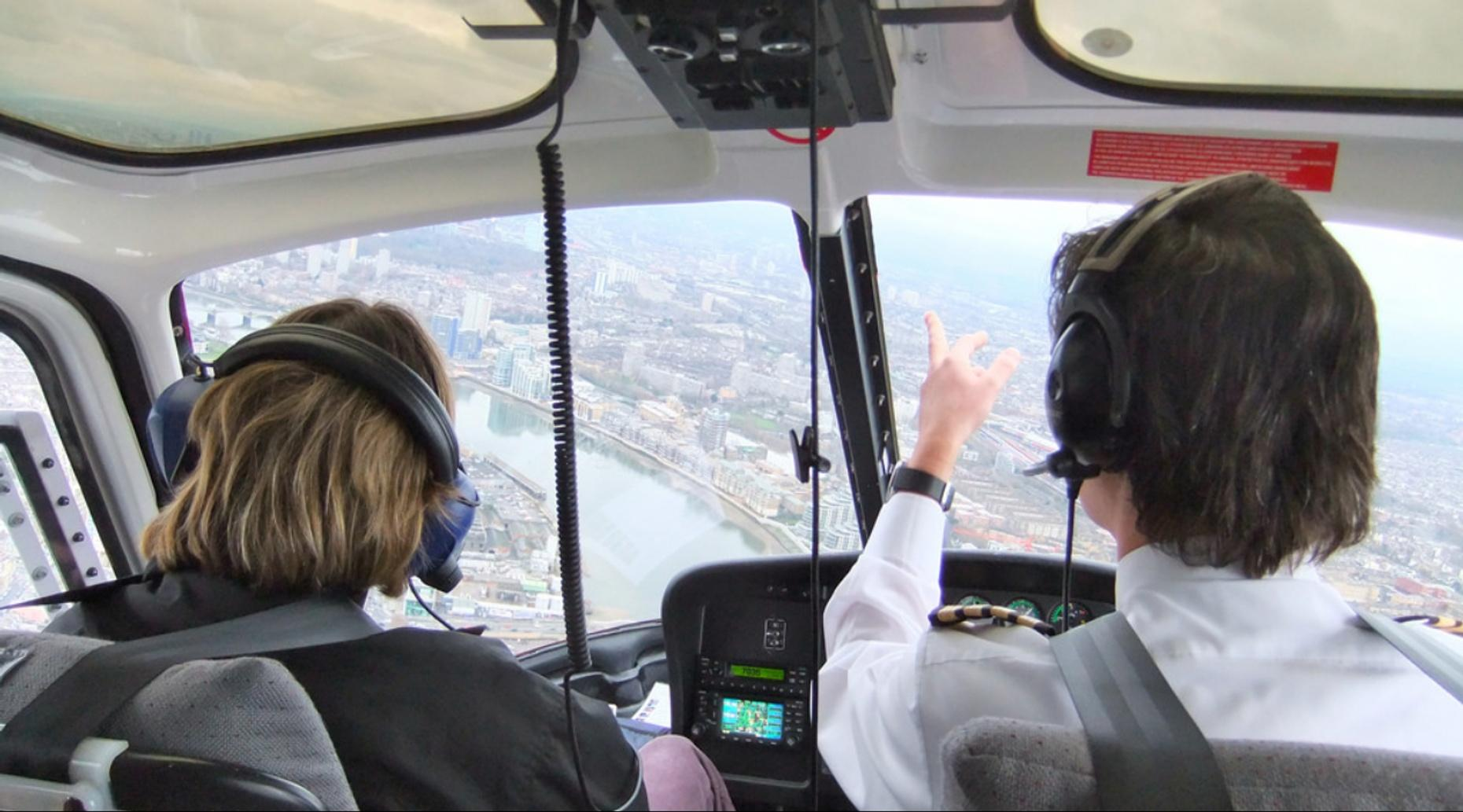 Duluth Discovery Flight Helicopter Lesson