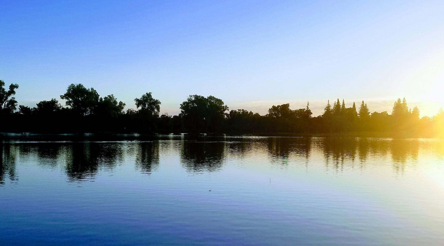 Sunrise Paddle on the Delta