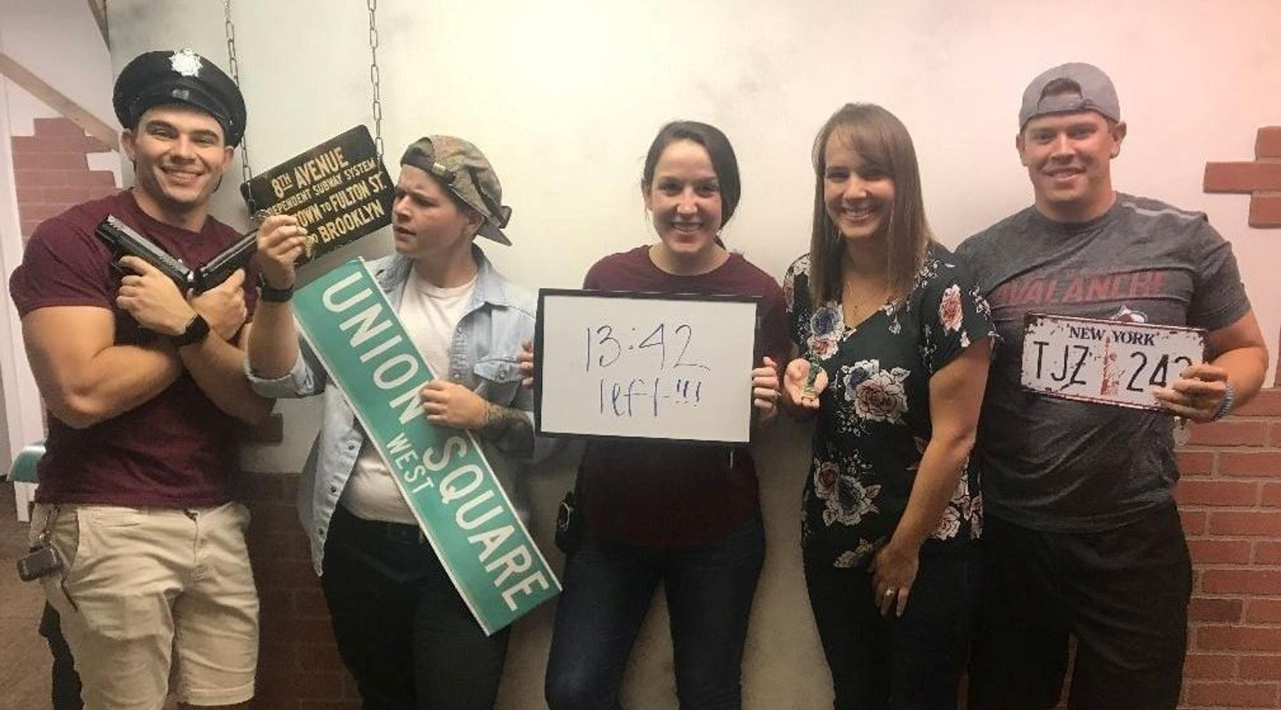 Passengers in Peril Escape Room in Parker
