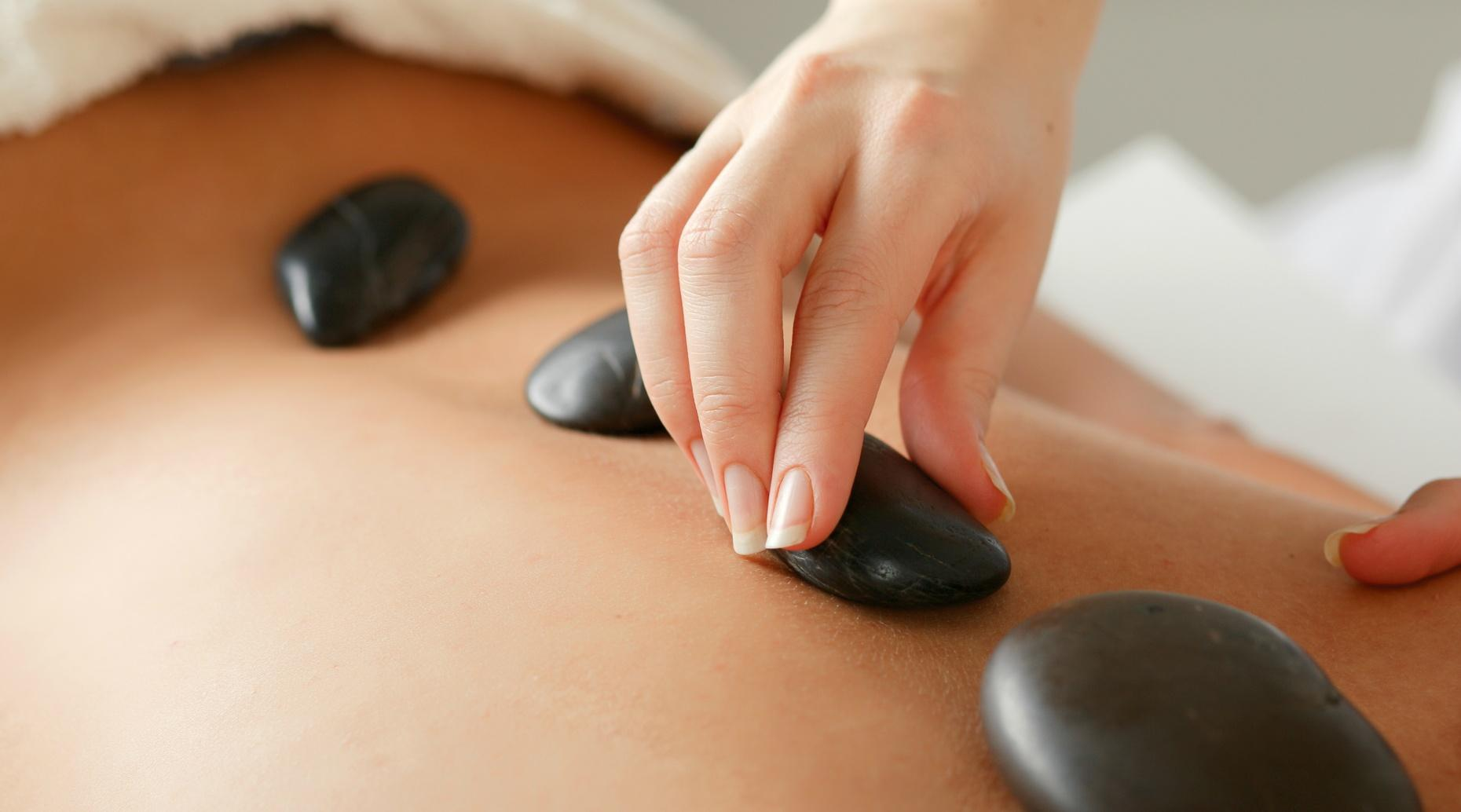 One-Hour Hot Salt Stone Massage