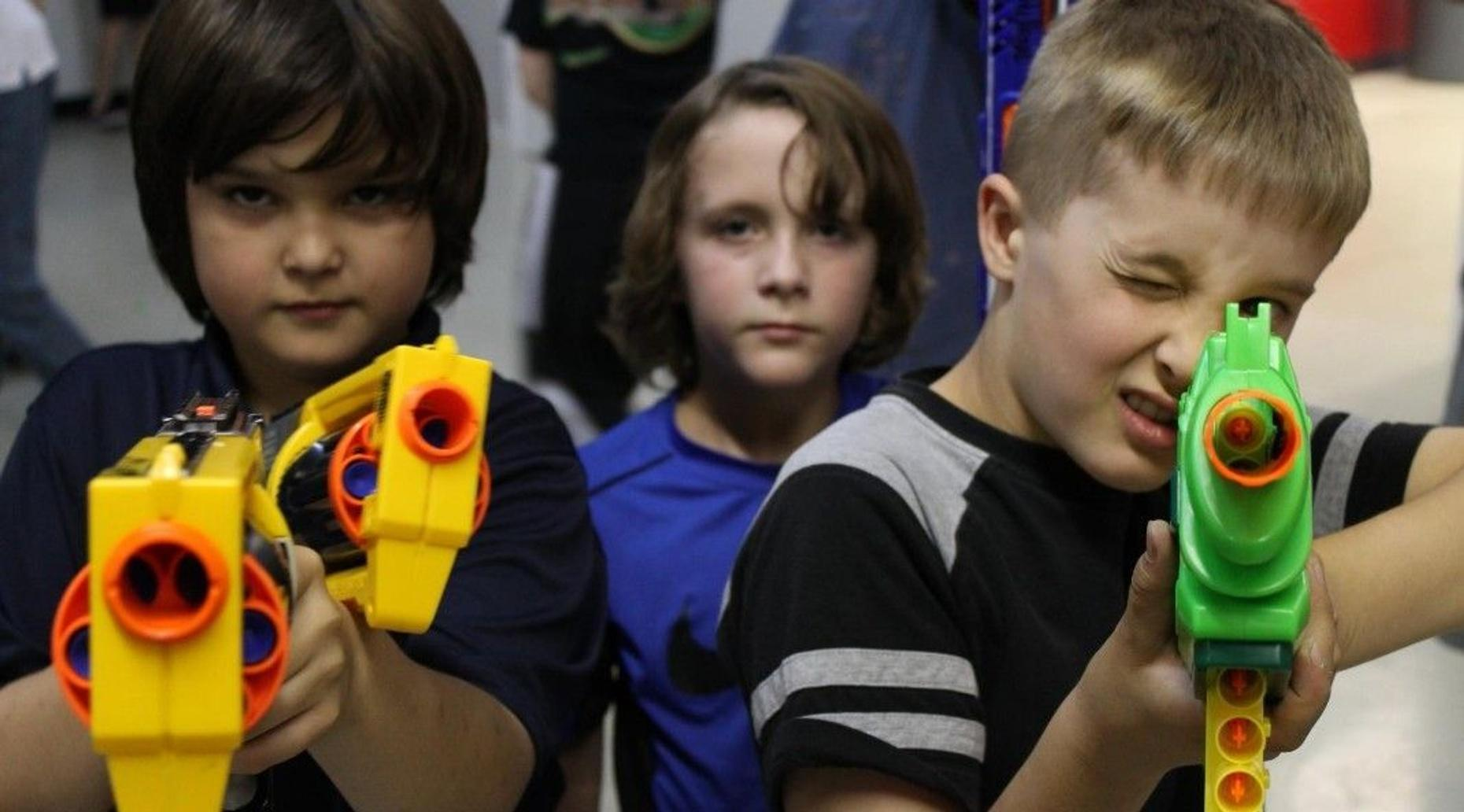 Two-Hour Nerf Pass for One in Denton