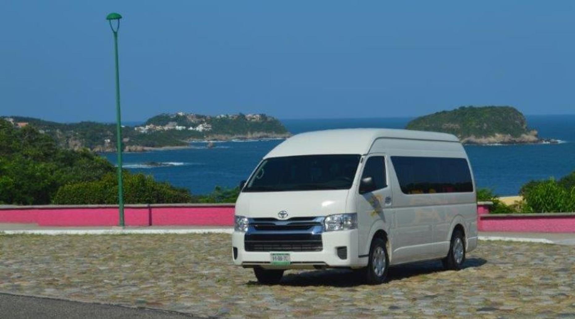 Transfer to Salina Cruz Surf Camps from Huatulco International Airport