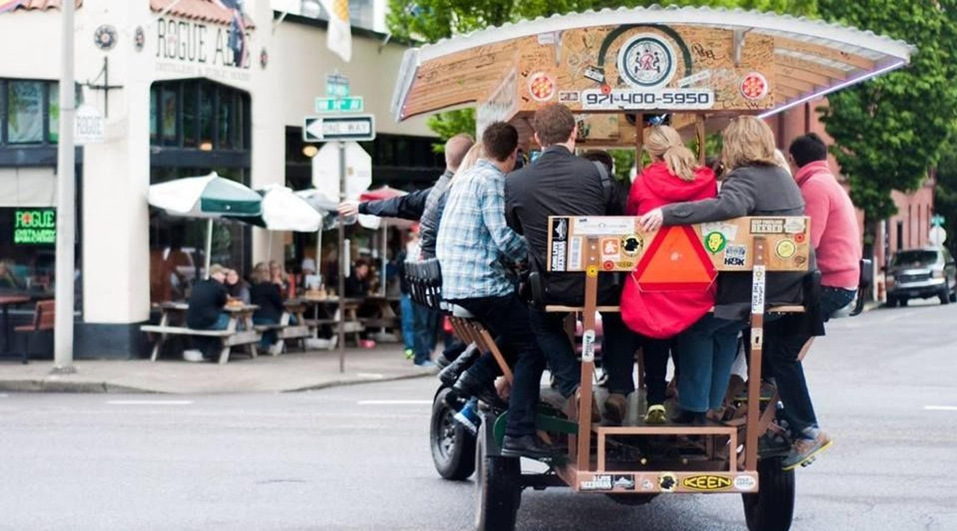 Pedal-Powered Beer & Cider Tour in East Portland
