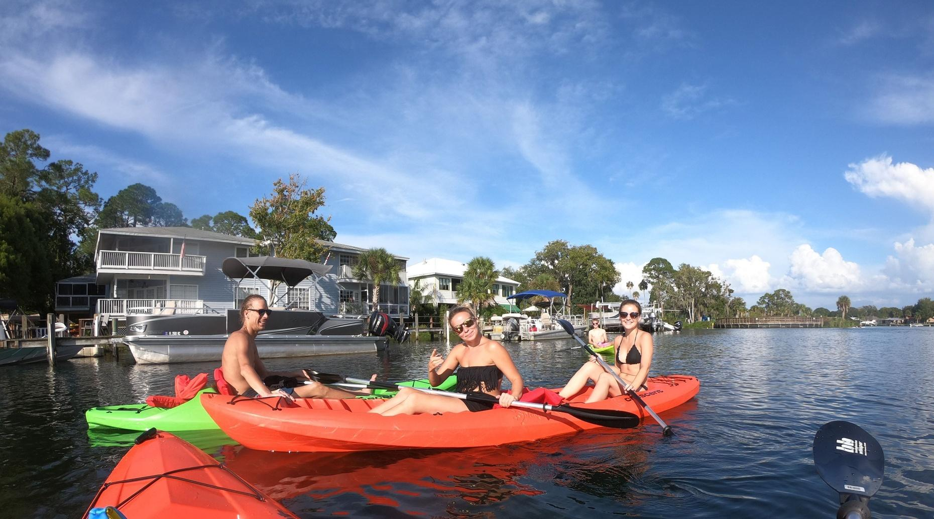 VIP Kayak, Paddleboard & Bike Tour Package