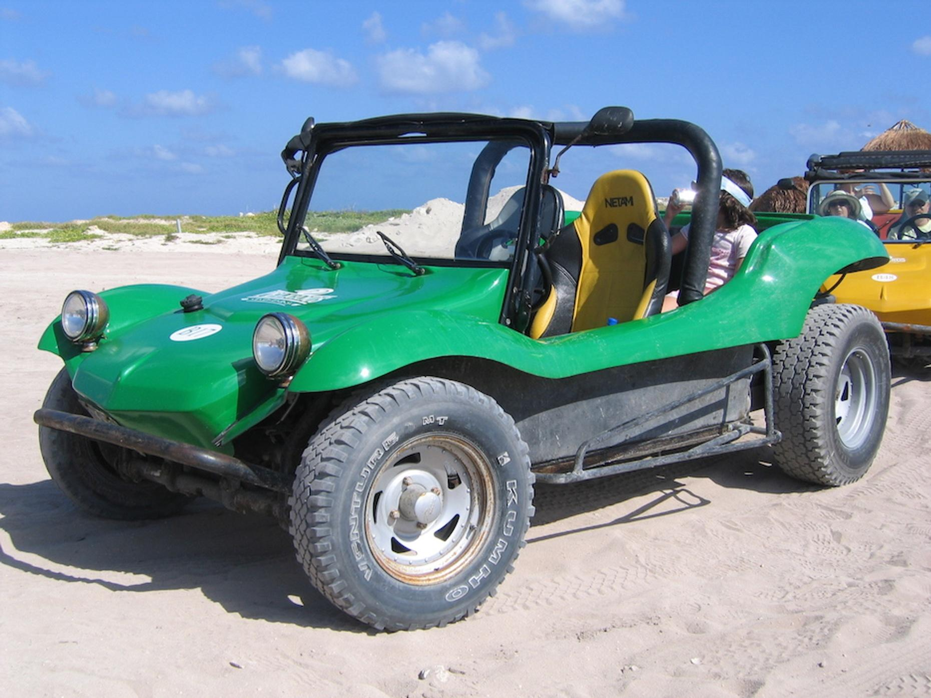 Open-Air Driving and Snorkeling tour in Cozumel
