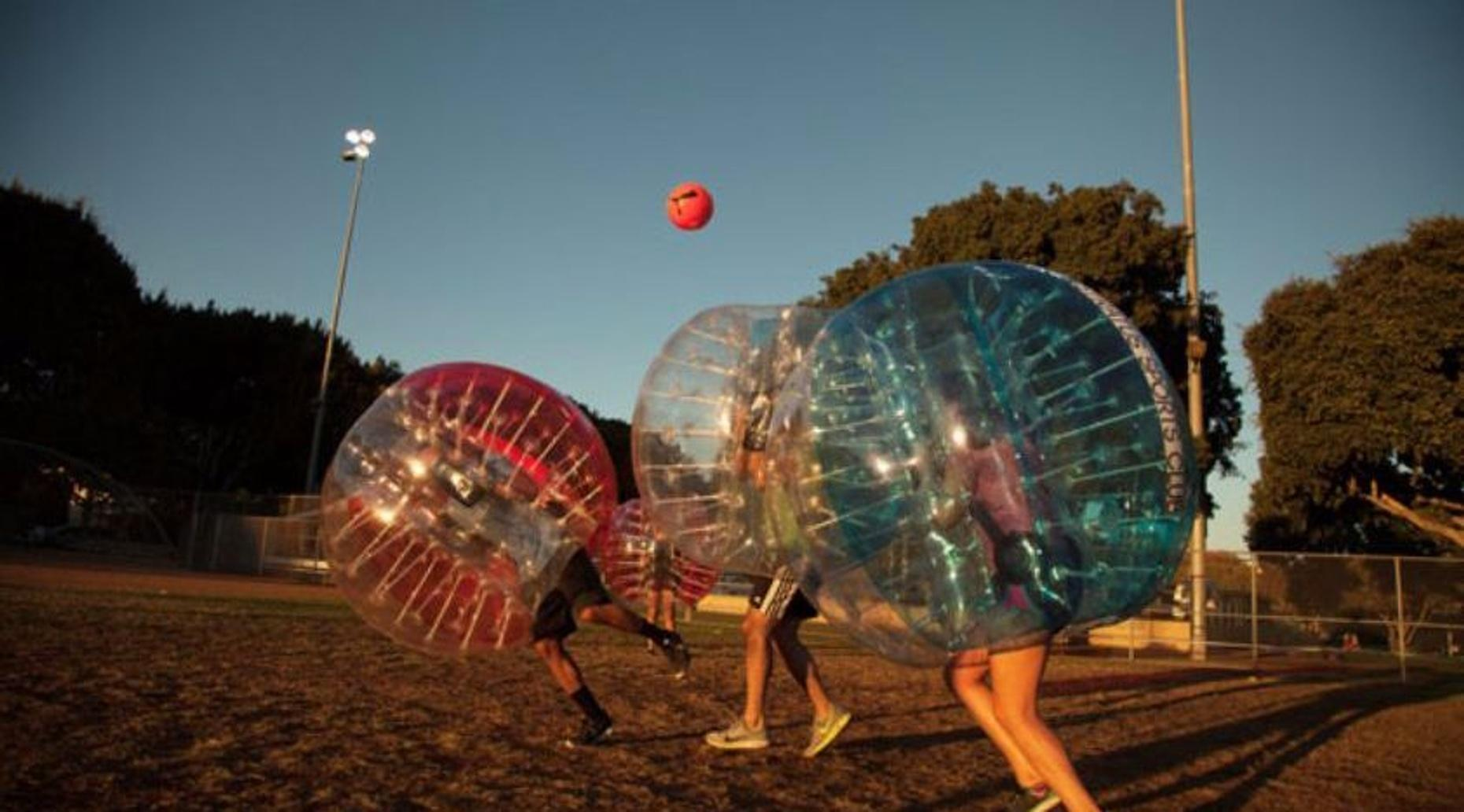 Whirlwind Bubble Soccer Package (12 Bubbles)