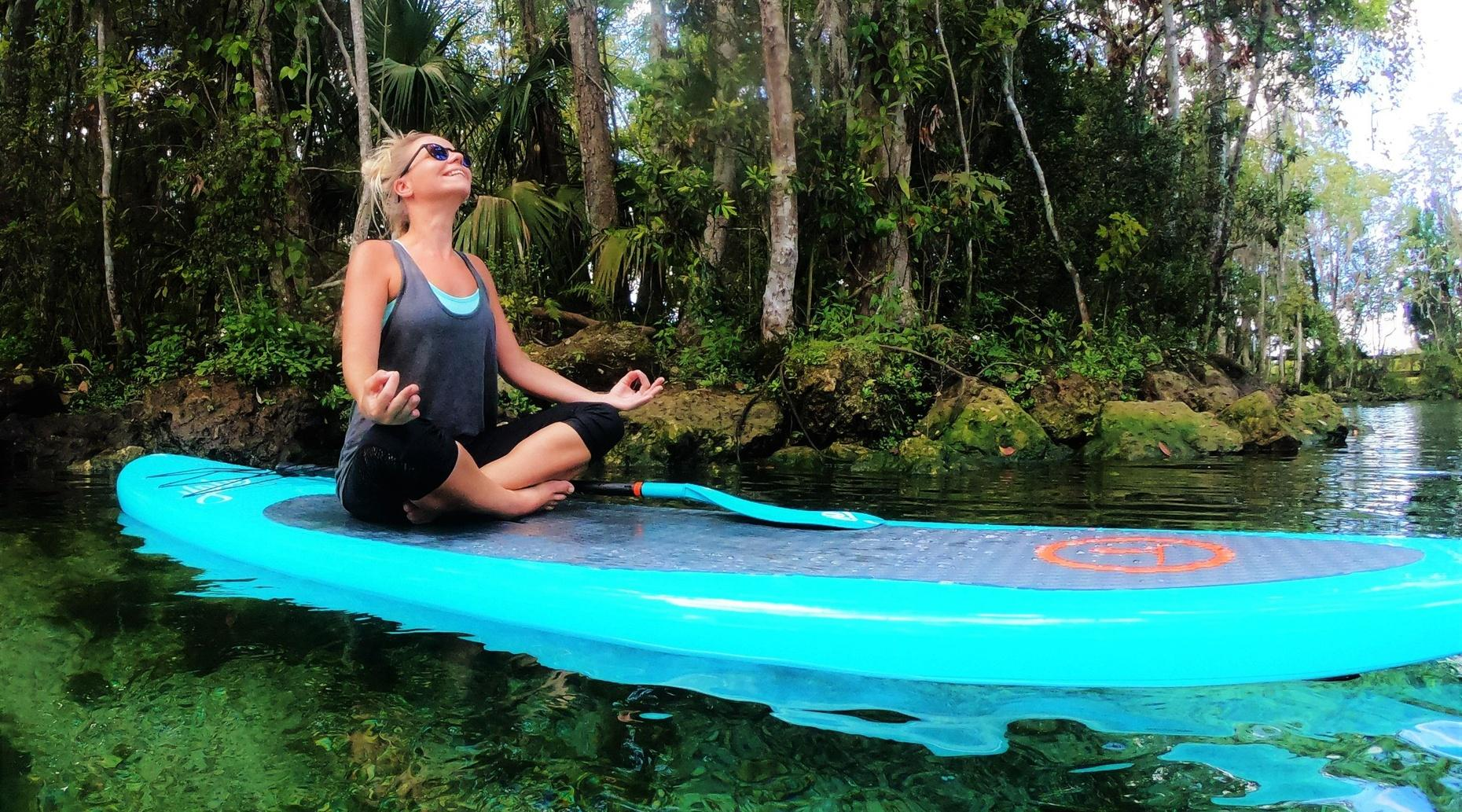 4 Hour 11' YOLO Hammerhead Paddle Board Rental and Manatee Viewing at Crystal River