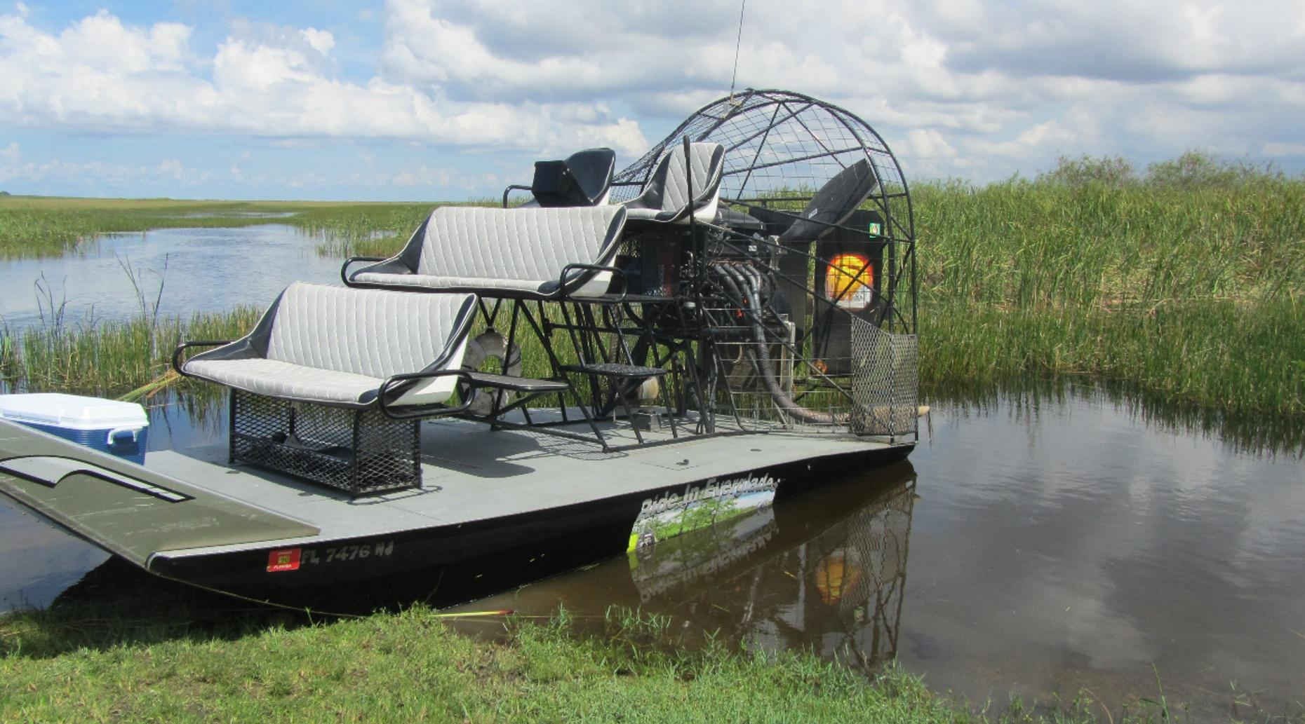 Airboat Tour on the Kissimmee River