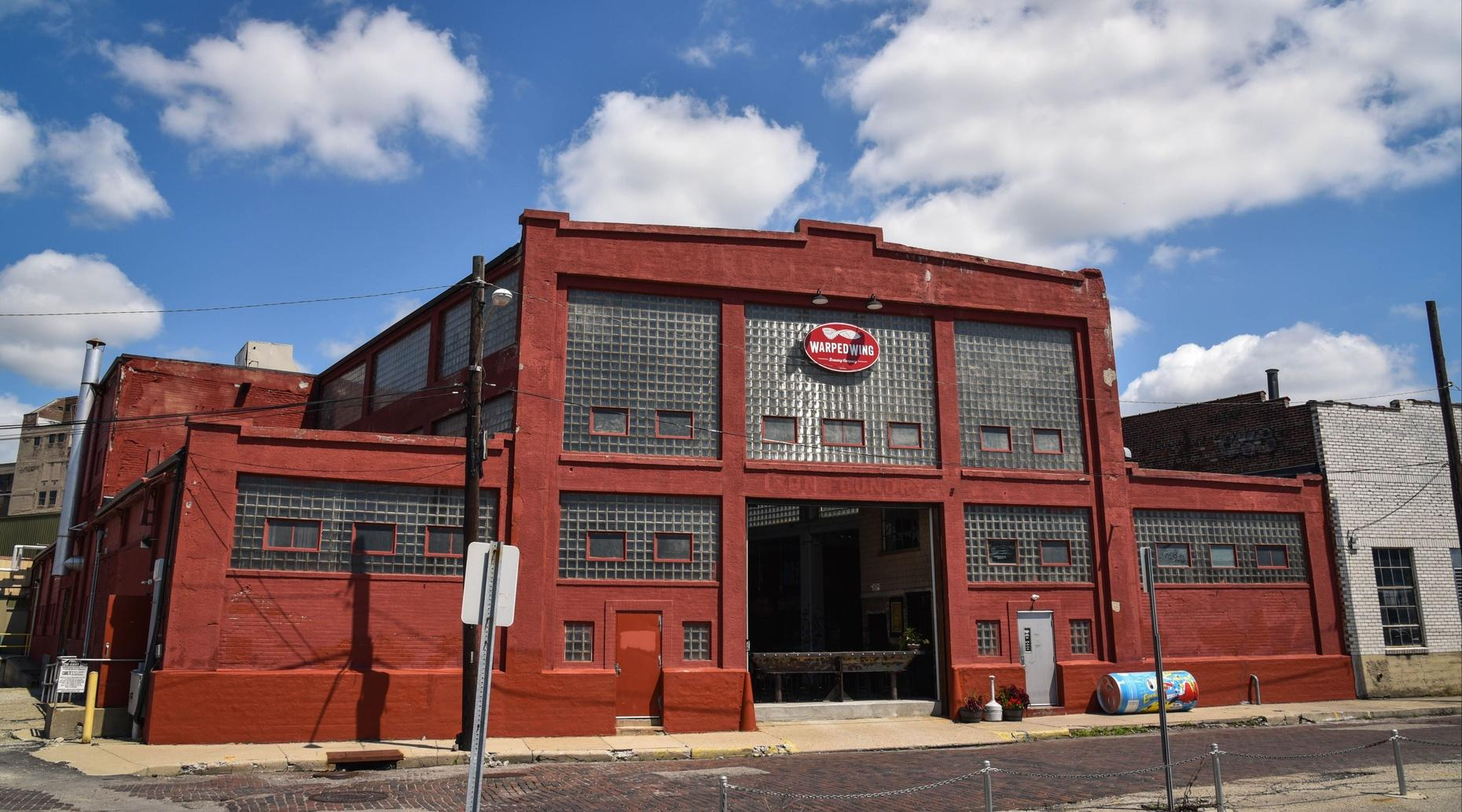 Warped Wing Brewery Tour