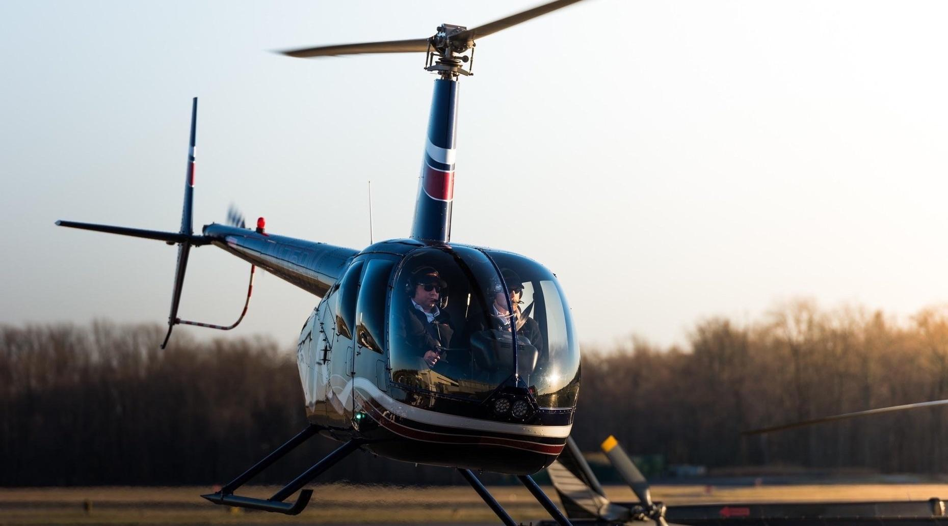 60-Minute Introductory Helicopter Flight Lesson